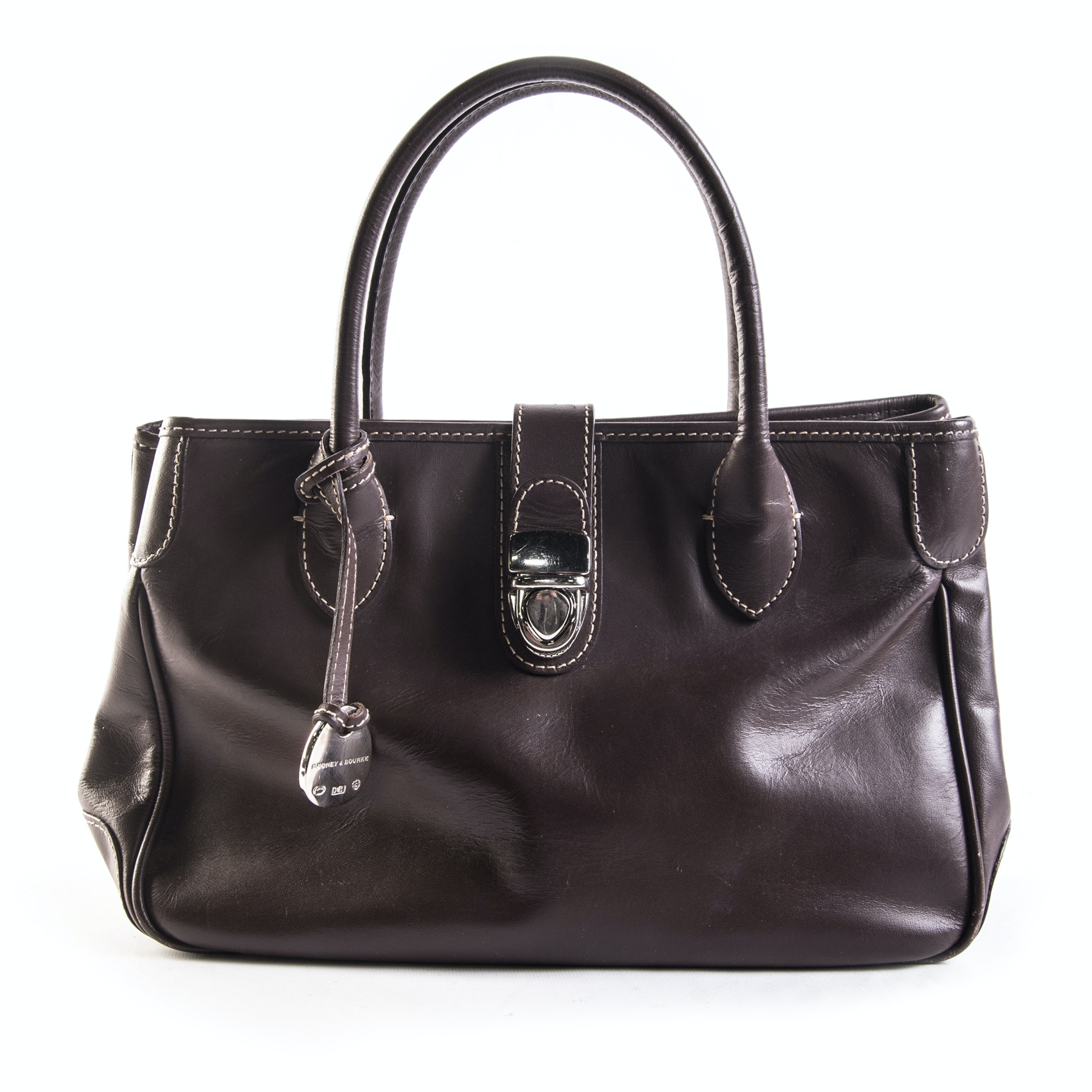 Dooney & Bourke Brown Leather Handbag
