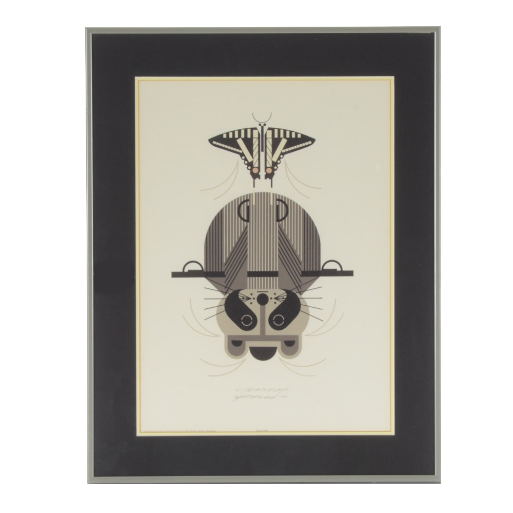 Charley Harper Signed Lithograph