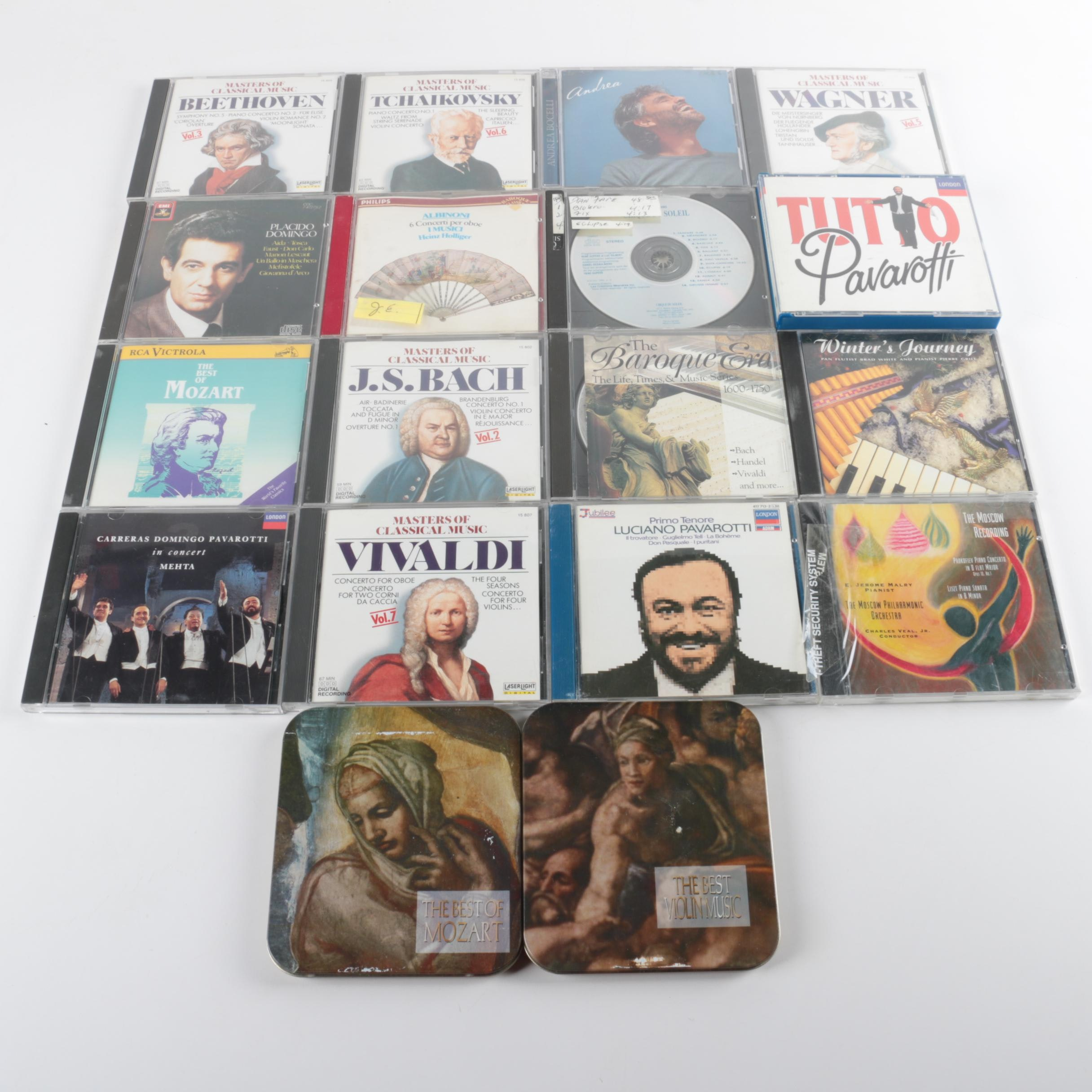 Classical and Opera Compact Discs