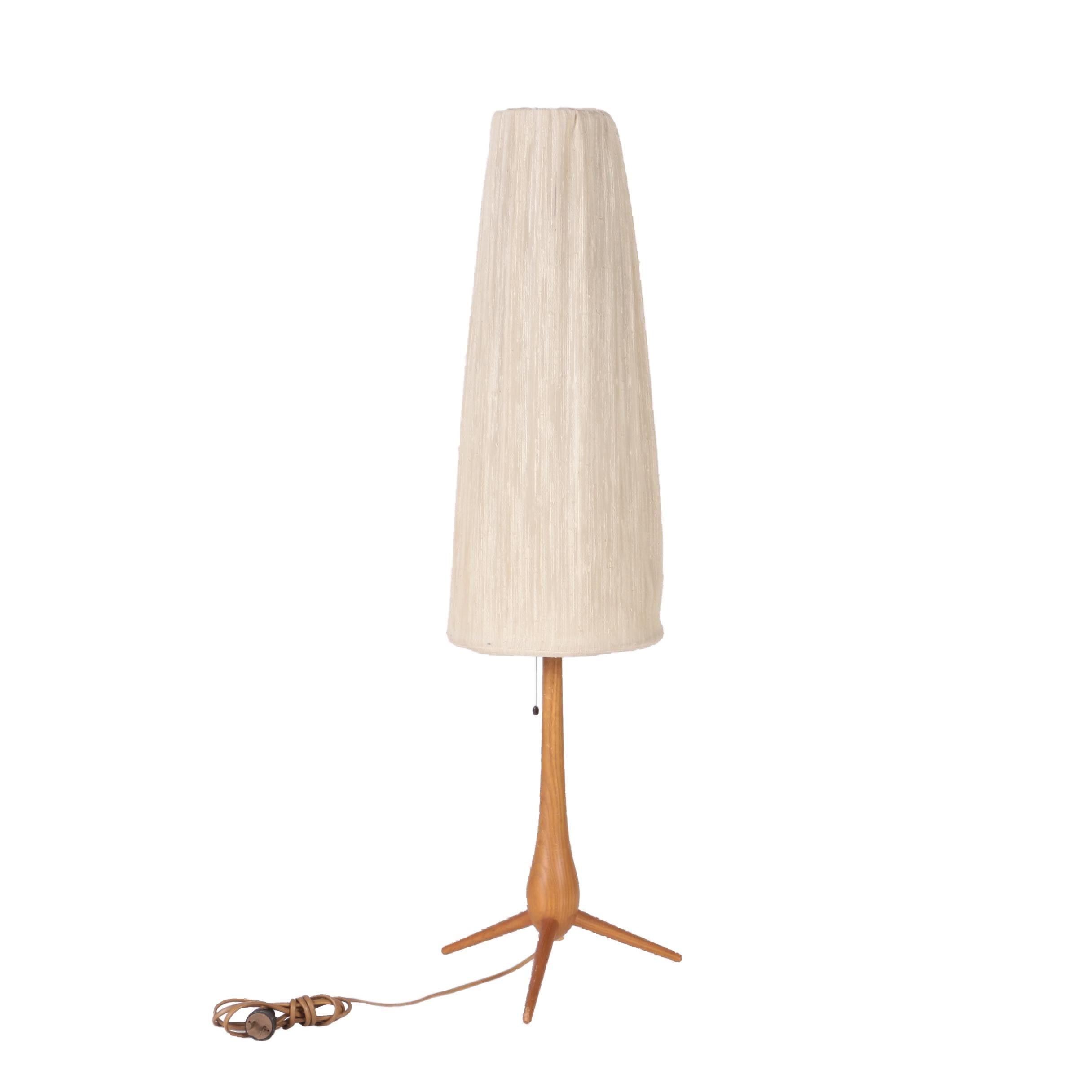 Le Klint Danish Modern Teak Table Lamp