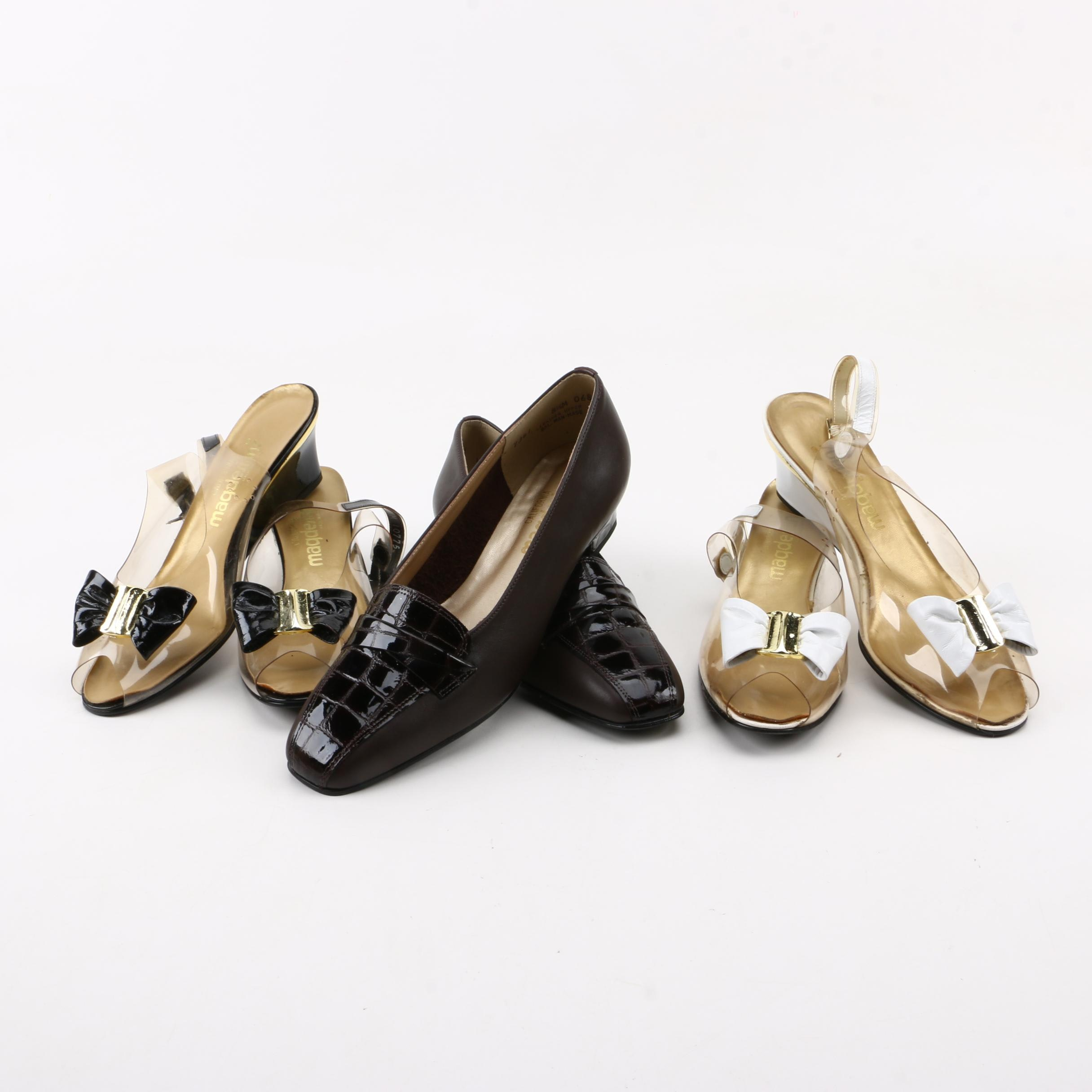 Magadesians Slingback Wedges and Heeled Loafers