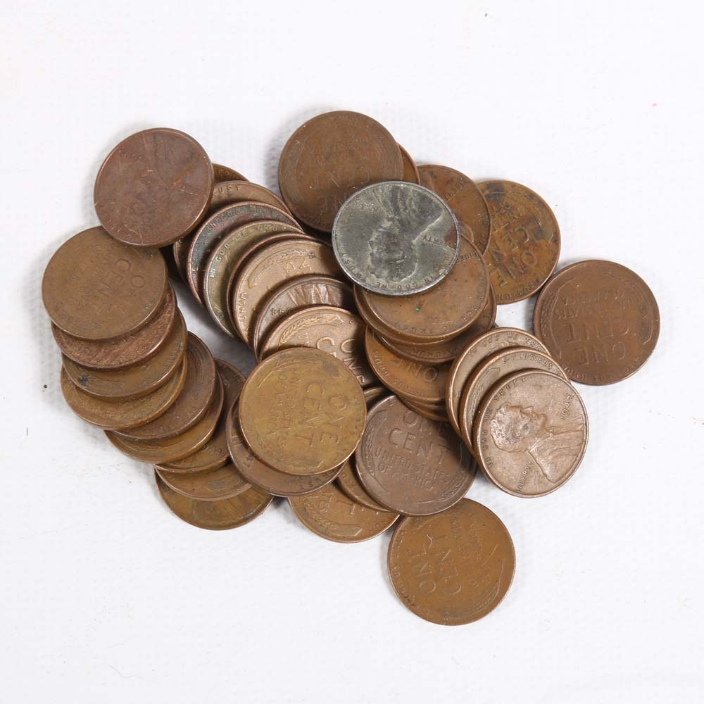 1940's Lincoln Wheat Pennies
