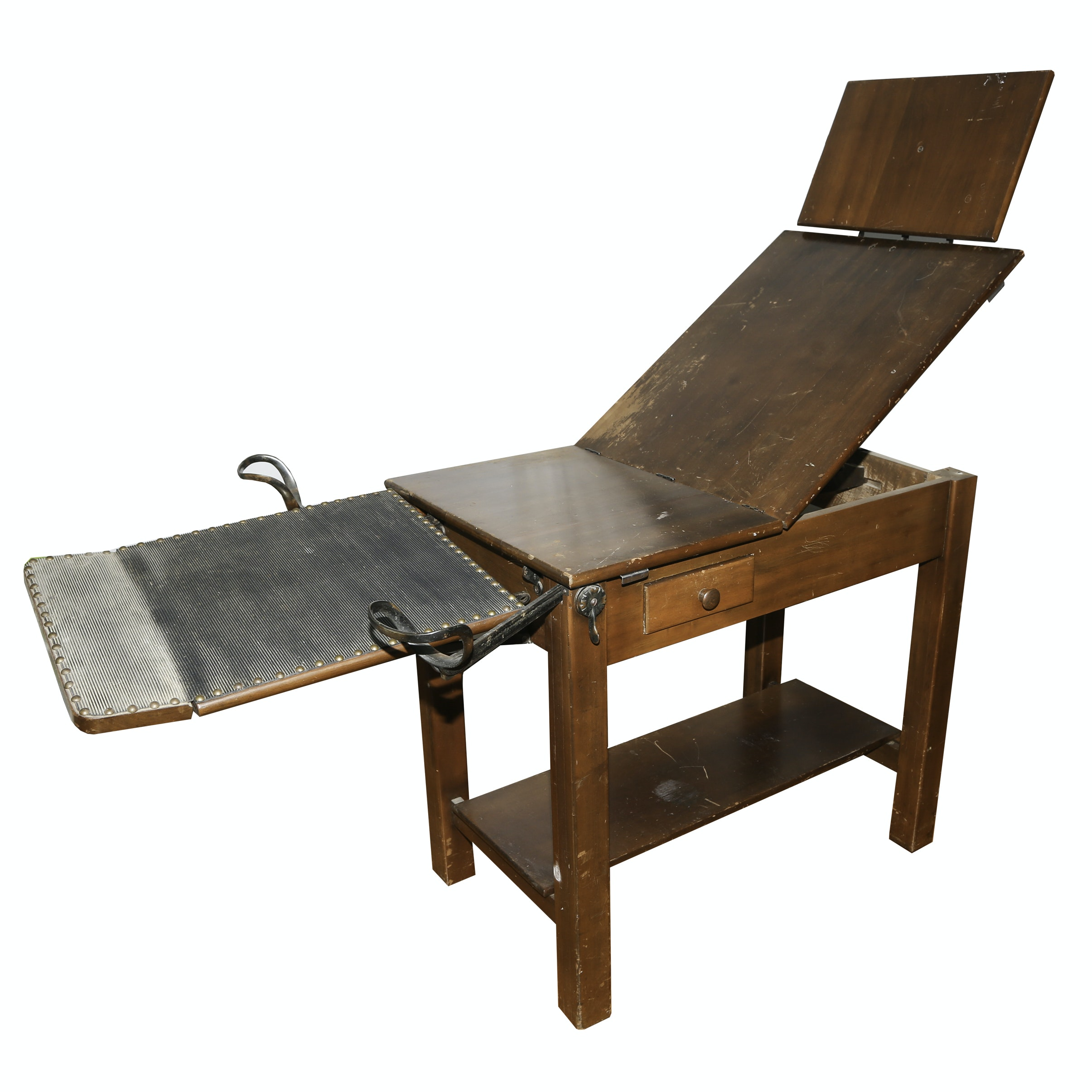 Antique Nalle Gynecological Exam Table