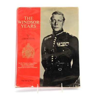 """""""The Windsor Years"""" Signed by Edward VIII and Wallis Simpson"""