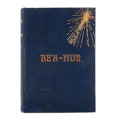 "1880 Signed ""Ben-Hur"" by Lew Wallace"
