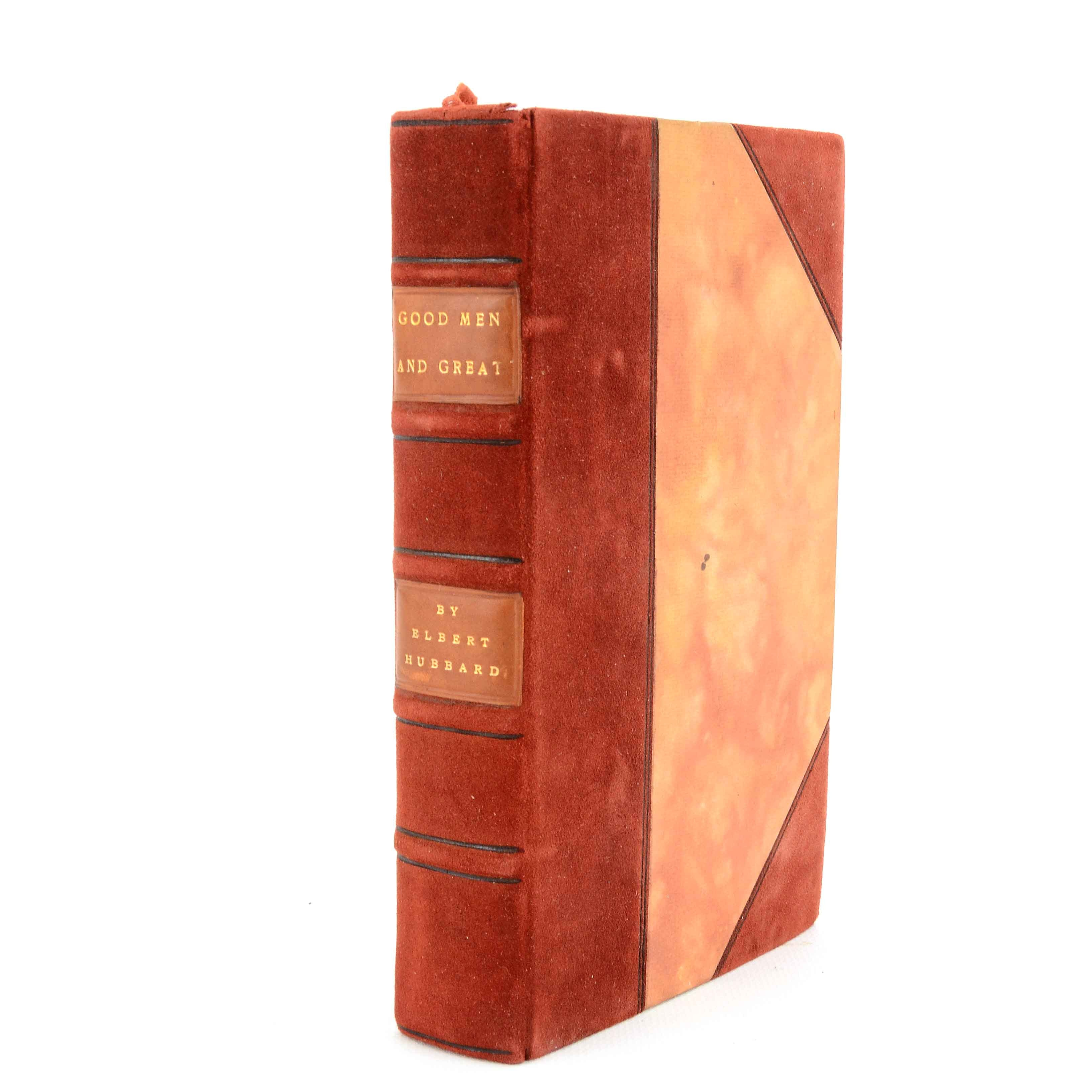 "Elbert Hubbard Signed ""Little Journeys"" 1907"