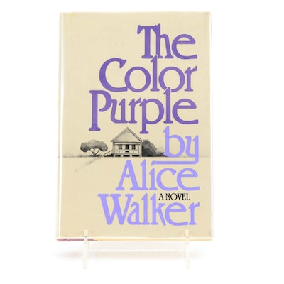 "Signed First Edition of ""The Color Purple"" by Alice Walker"
