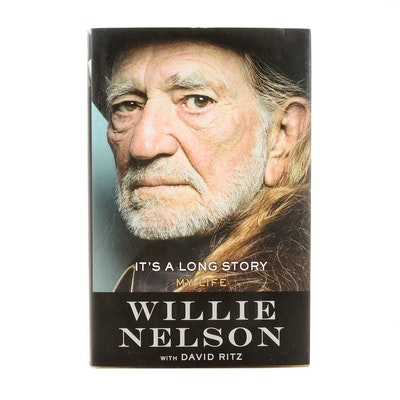 Willie Nelson Signed Autobiography