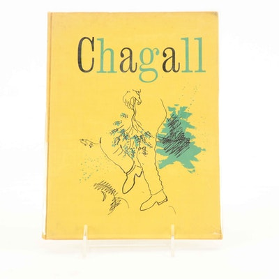 1946 Signed Marc Chagall Art Book