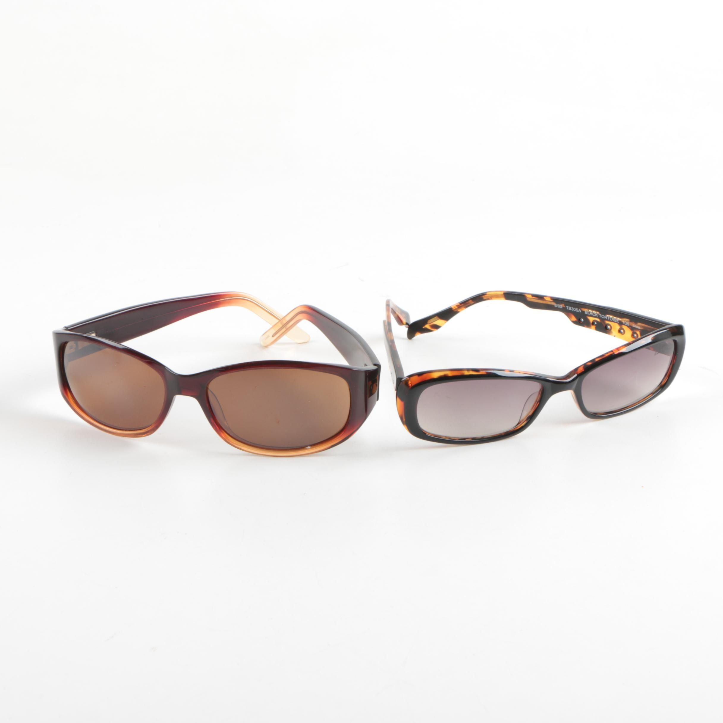 Tommy Bahama TB30SA and Pacific Traders Hawaiian Collection Sunglasses