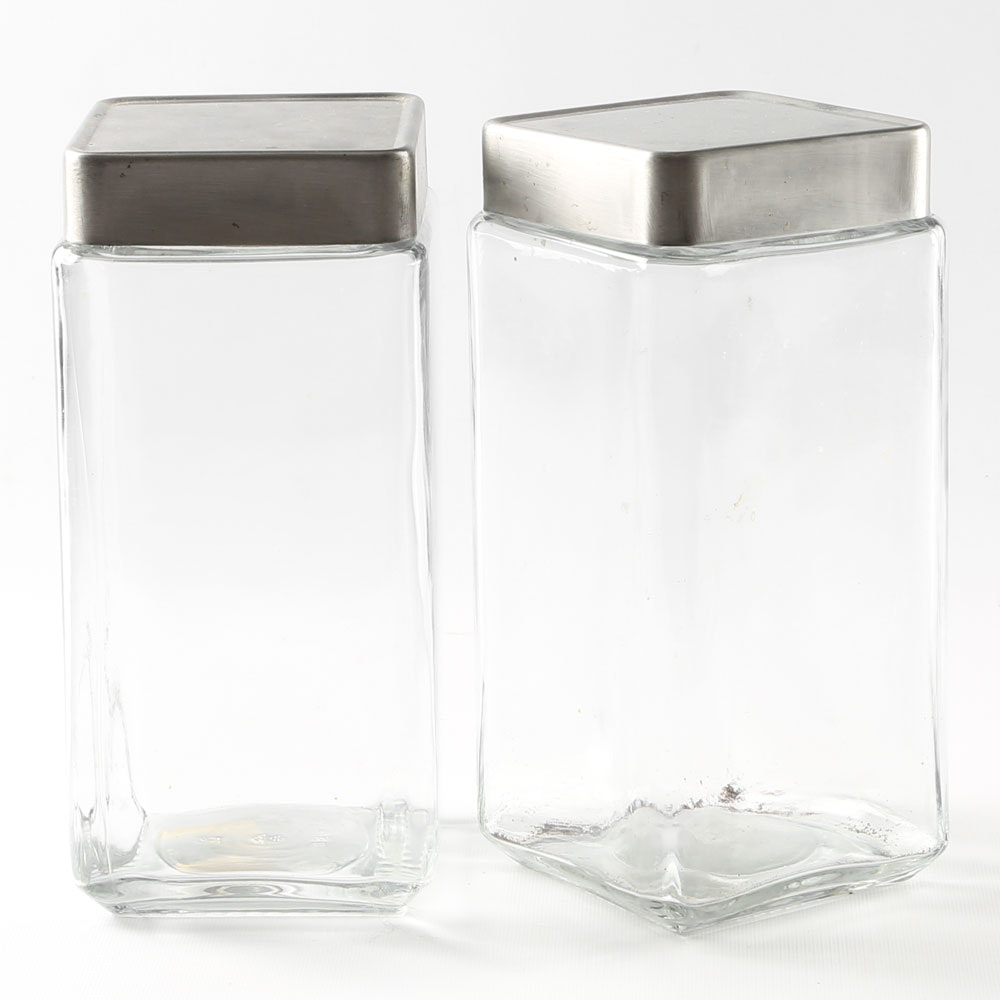 Anchor Hocking Glass Canisters