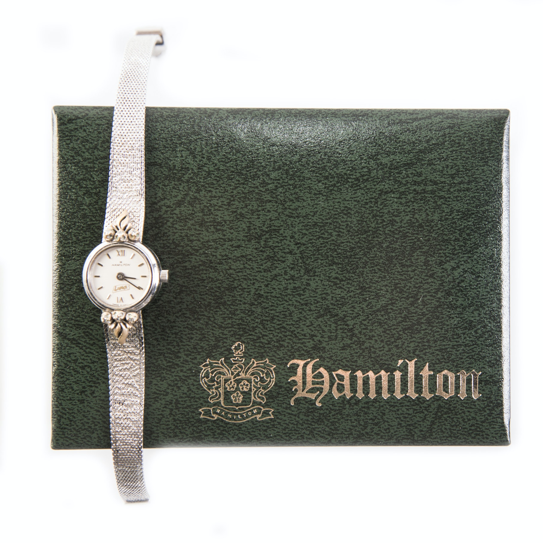 Hamilton 10K Rolled Gold Plated Wristwatch