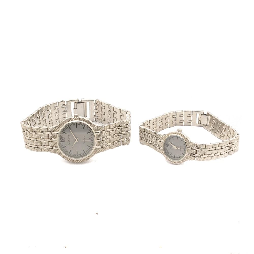 Geneva Classic Collection Quartz Wristwatches