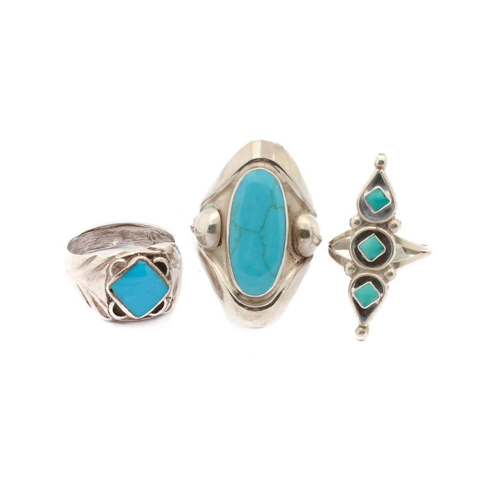 Sterling Silver Fashion Rings