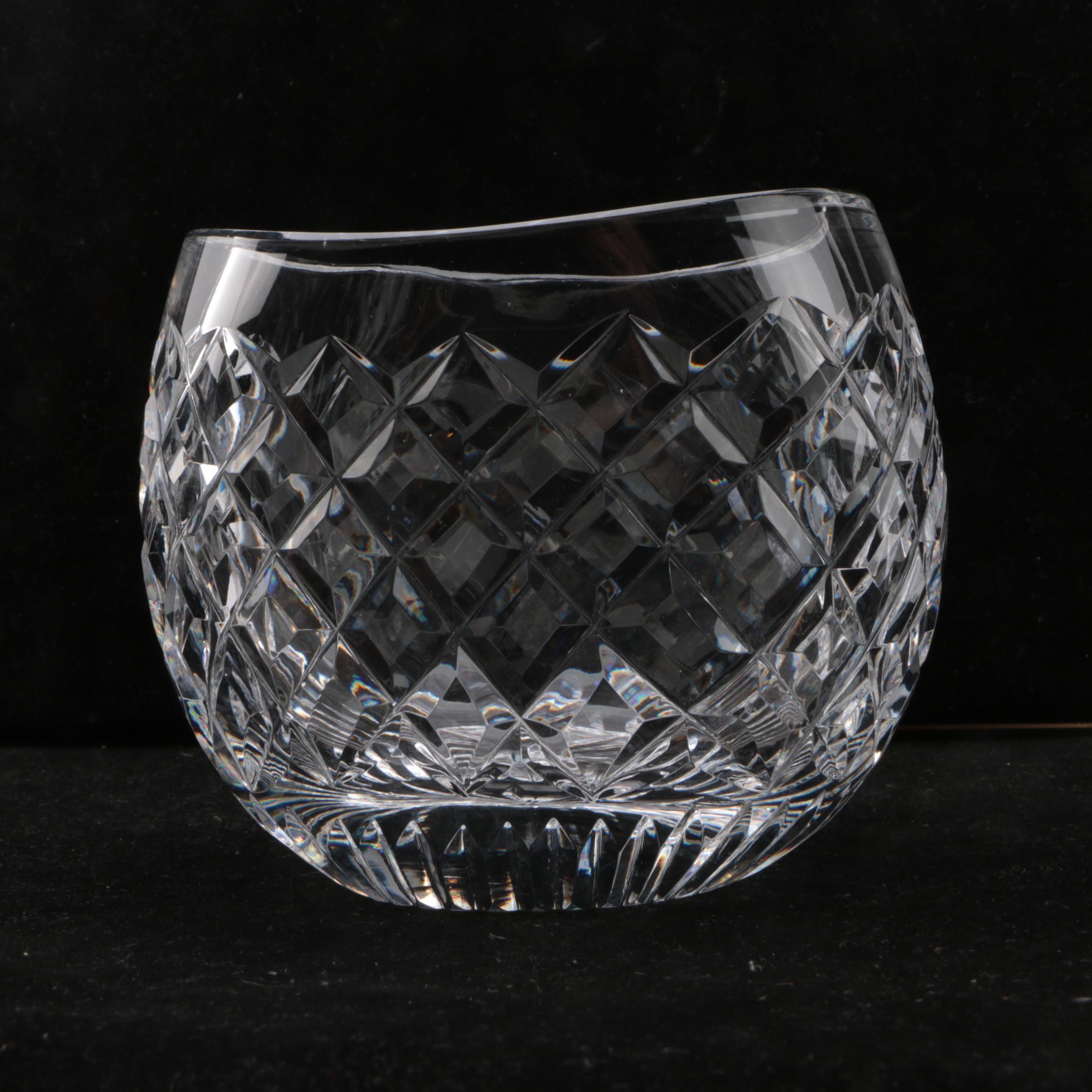 Waterford Crystal Oval Vase