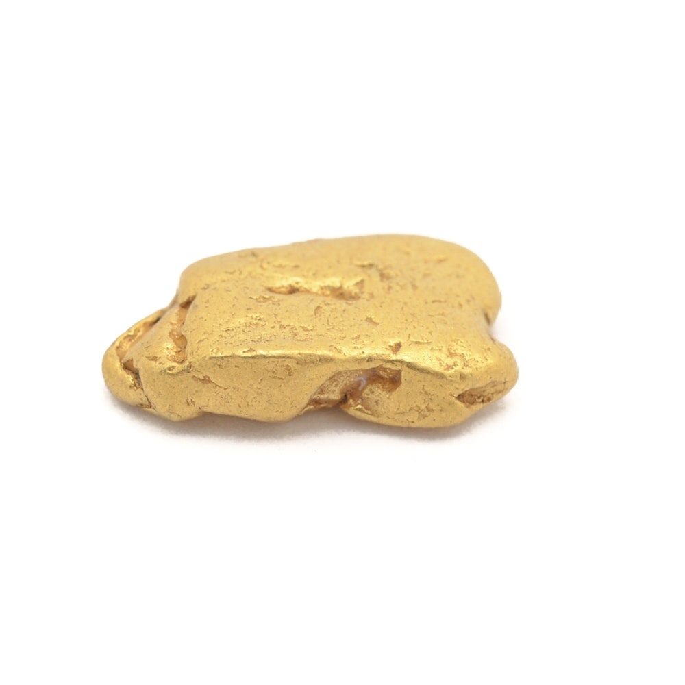 21K Yellow Gold Freeform Gold Nugget