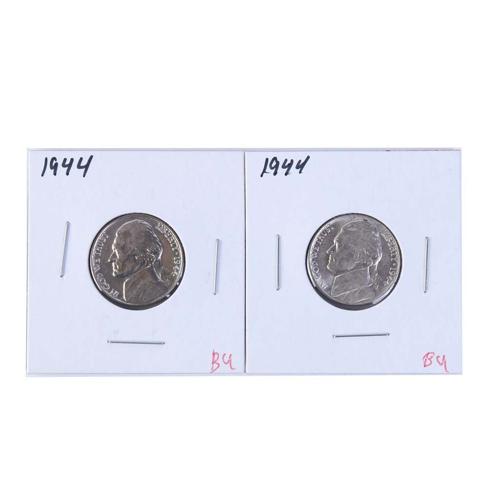 1944 Jefferson Nickels