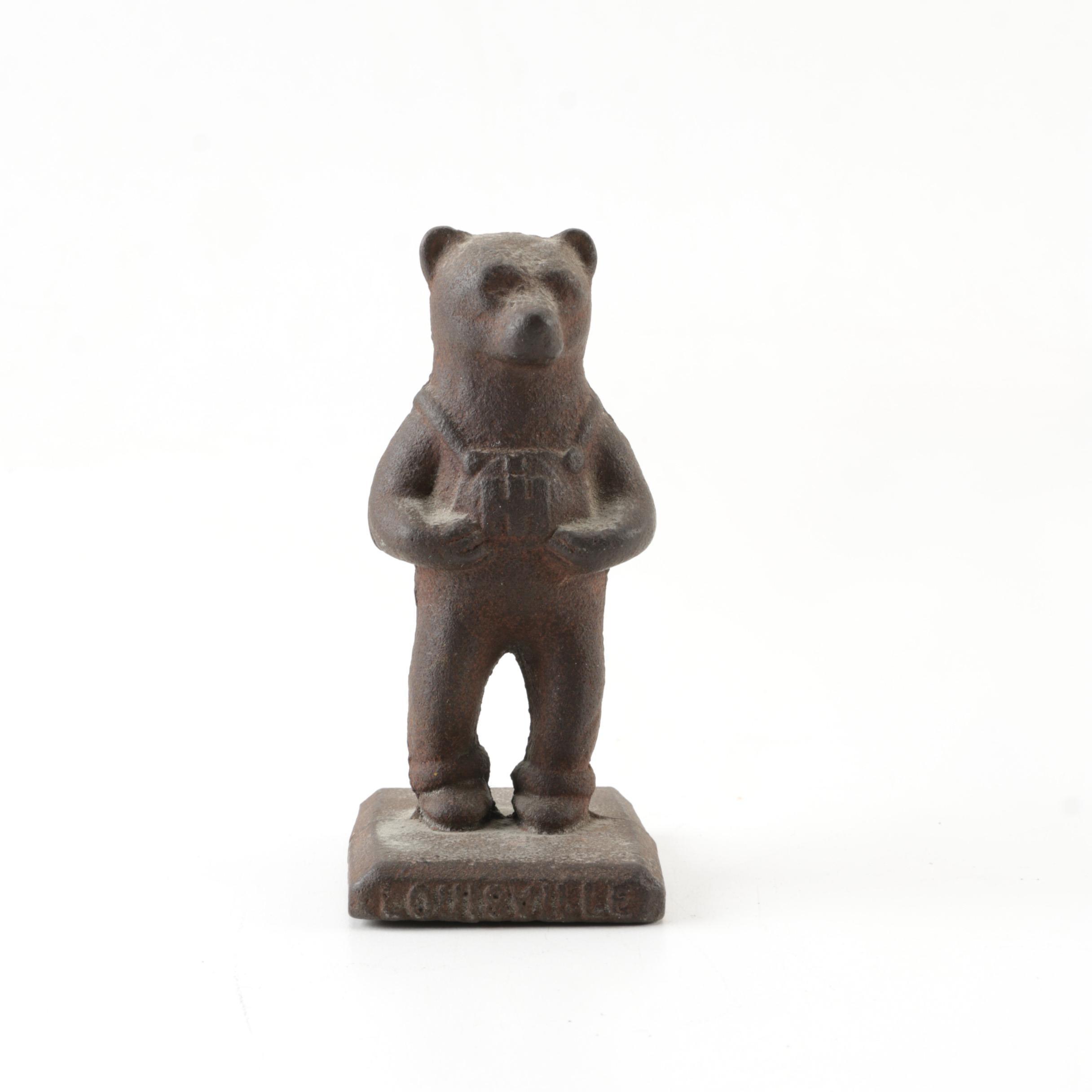 International Harvester Cast Iron Bear