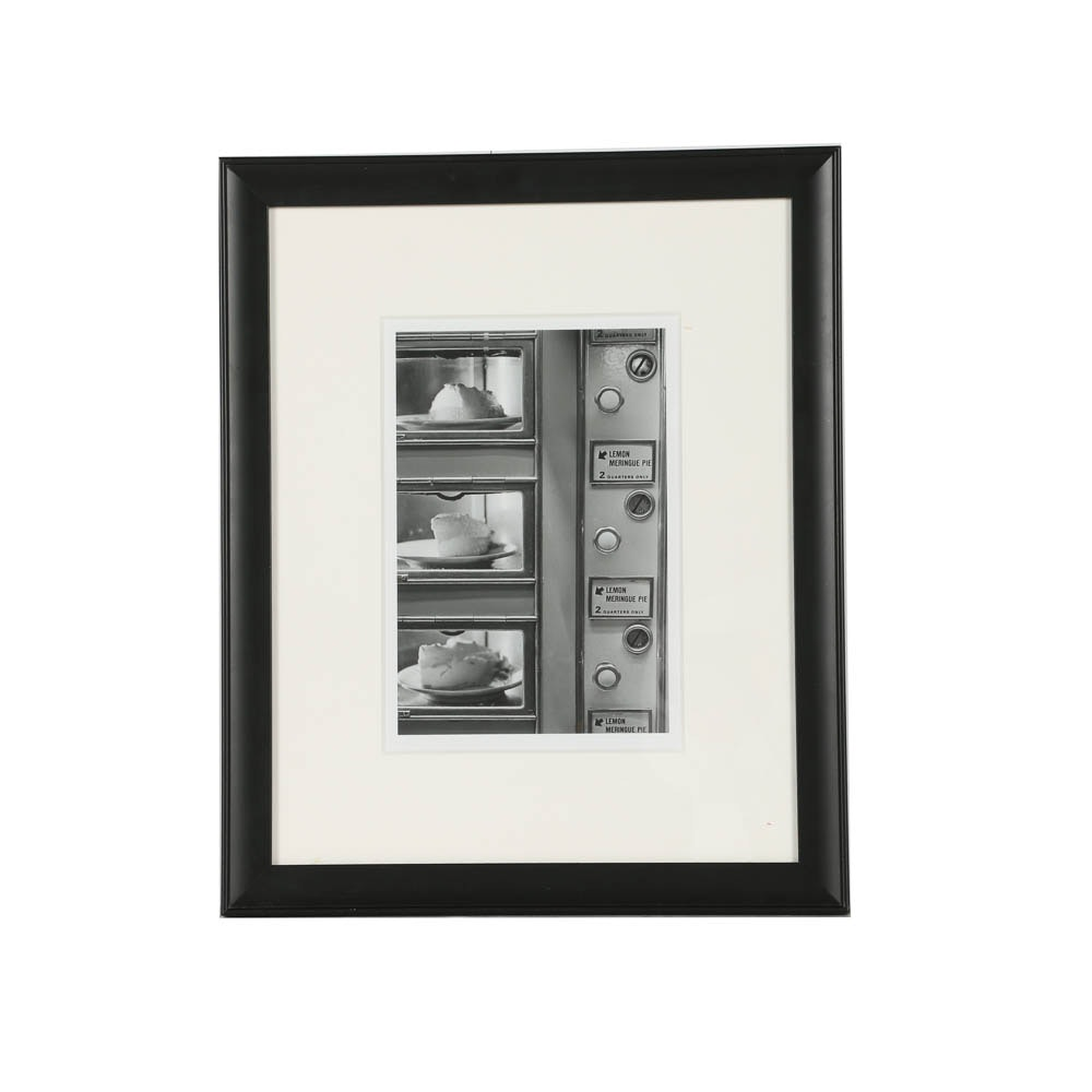 "New York Times Collection Gelatin Silver Photograph ""The Automat Window"""