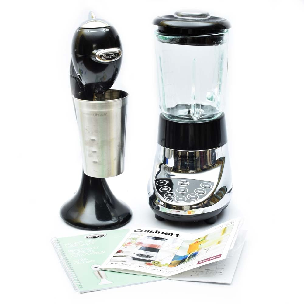 Cuisinart 7-Speed Blender and Hamilton Beach Drink Mixer