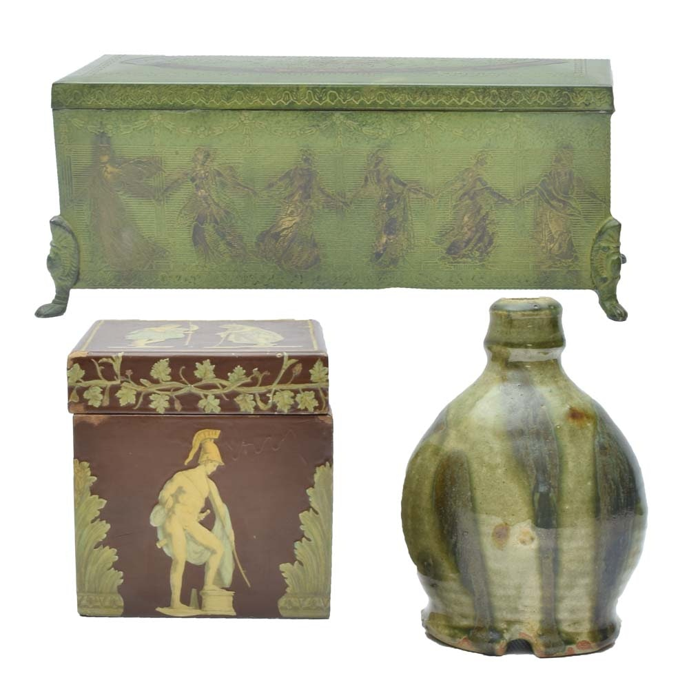 Trinket Boxes and Vase