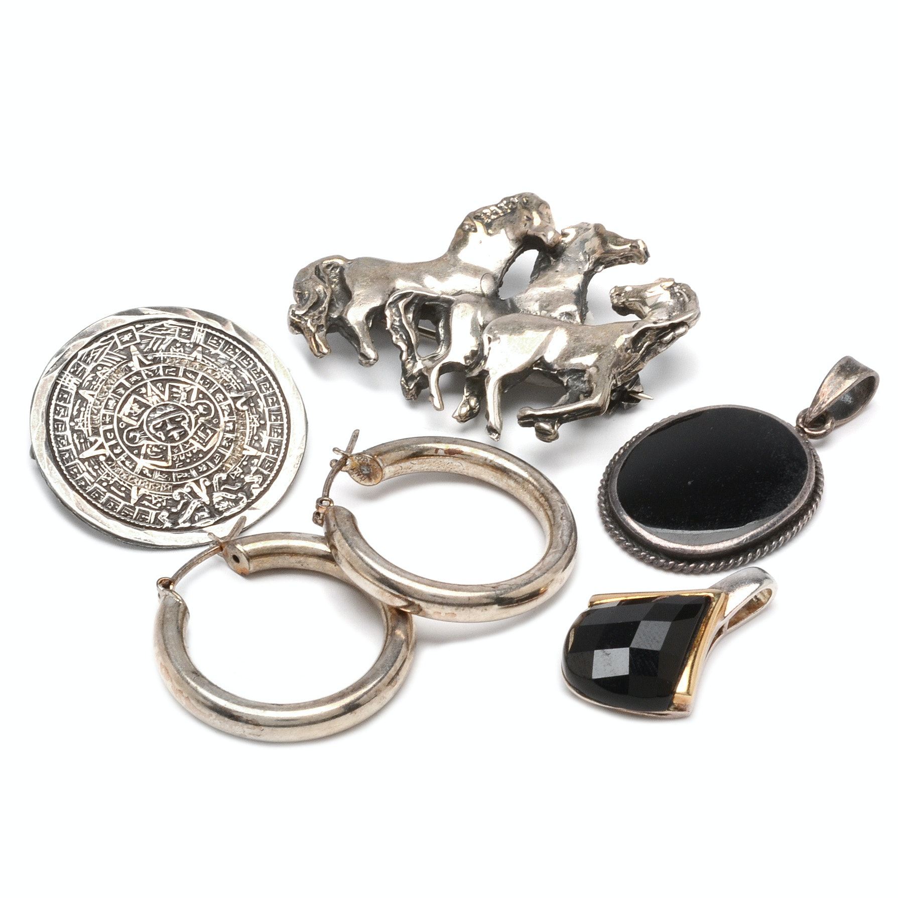 Vintage Sterling Silver Jewelry Assortment