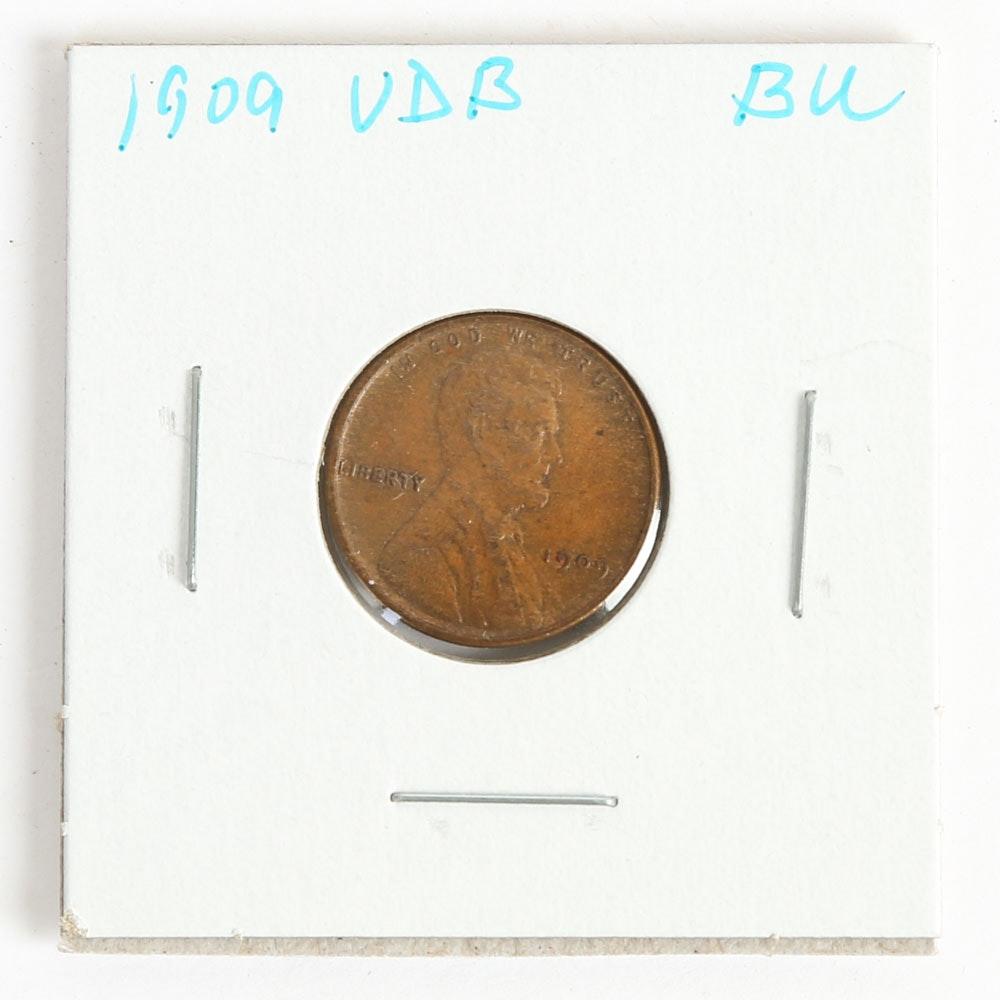 1909 VDB Lincoln Head Cent