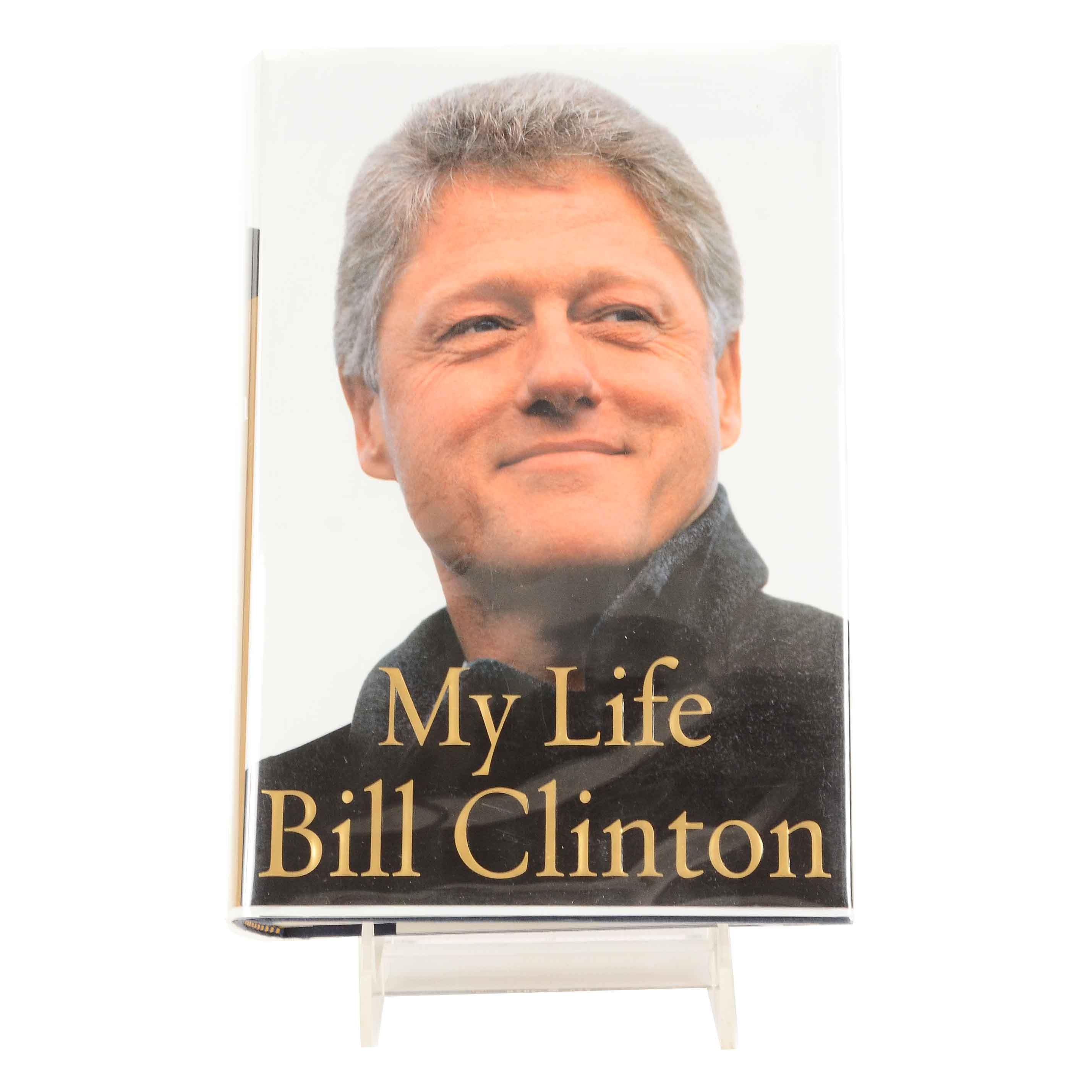 """Bill Clinton Signed """"My Life"""" in Hardcover"""