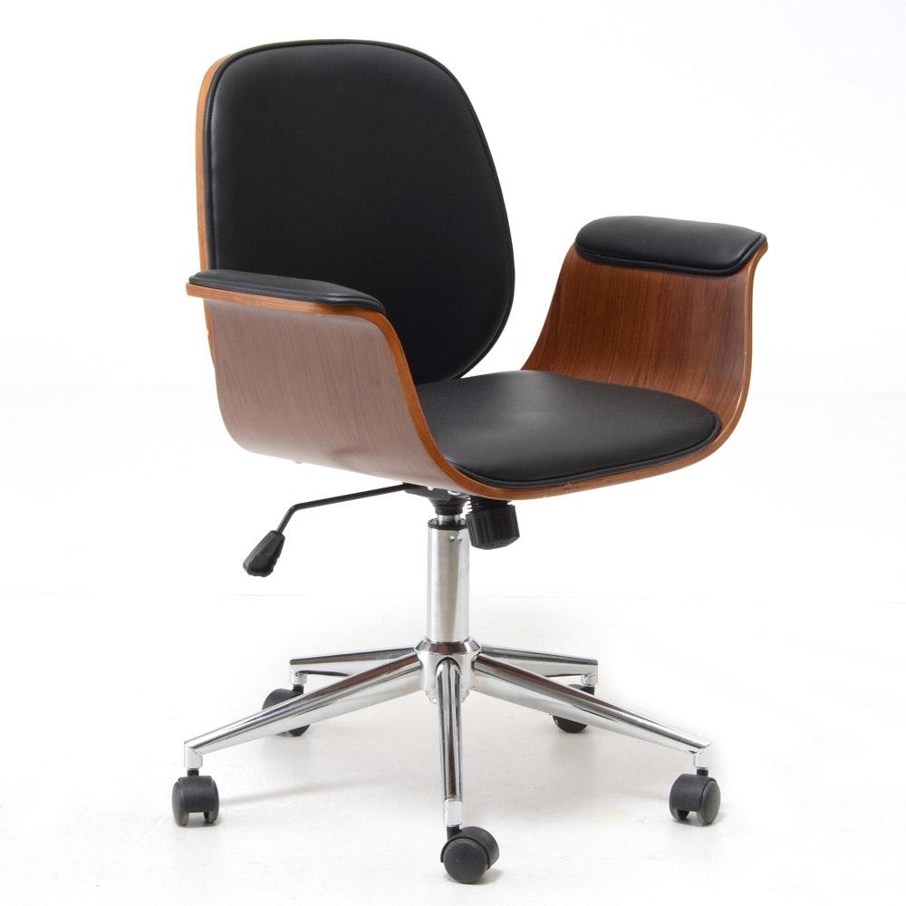 Mid Century Modern Style Office Chair