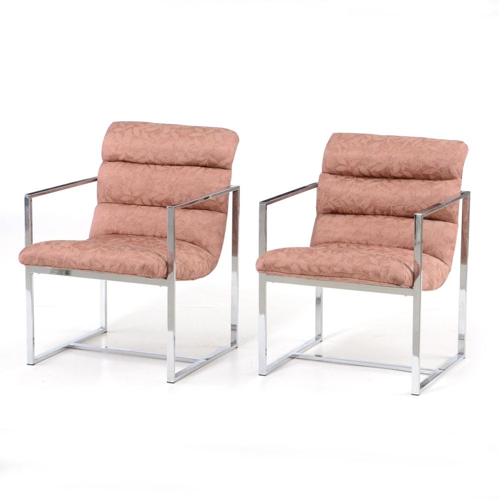 Pairing of Modern Armchairs