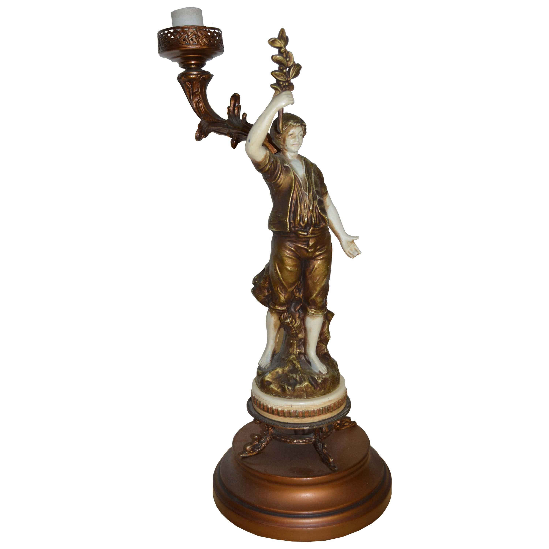 Vintage Figural Table Lamp