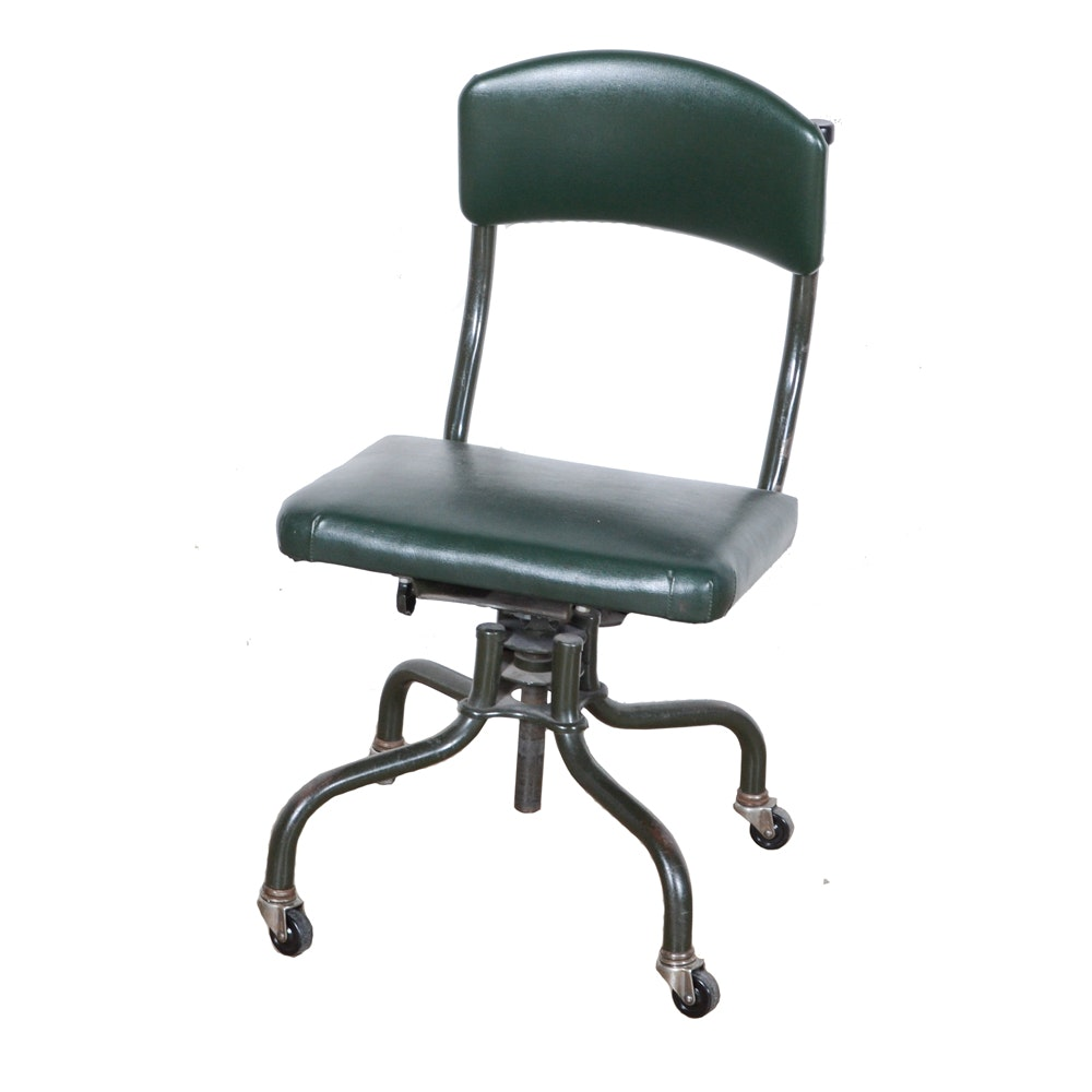 "Mid-Century Harter Office ""Posture Chair"""