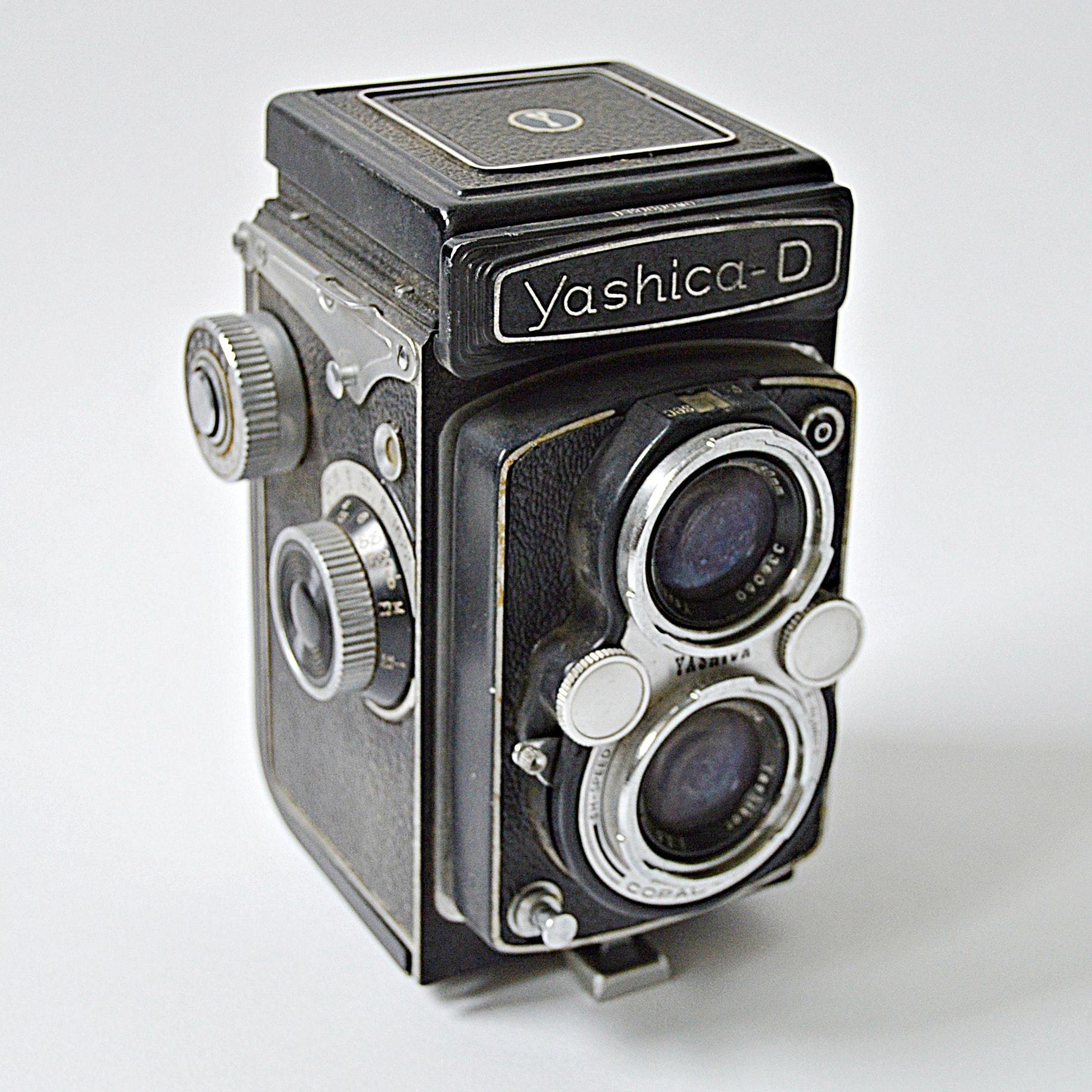 Vintage Yashica-D Camera