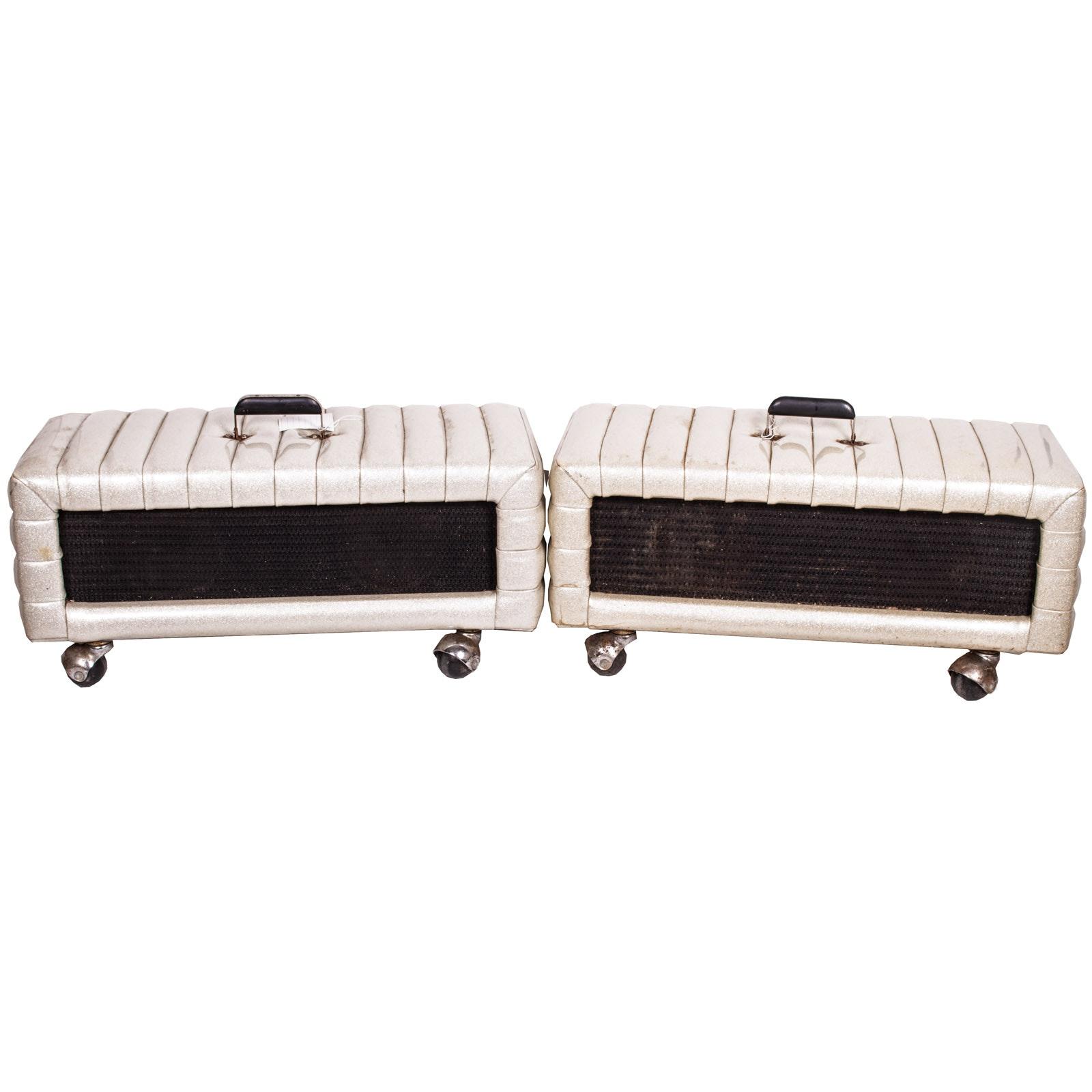 Vintage Kustom Amp Head Cabs