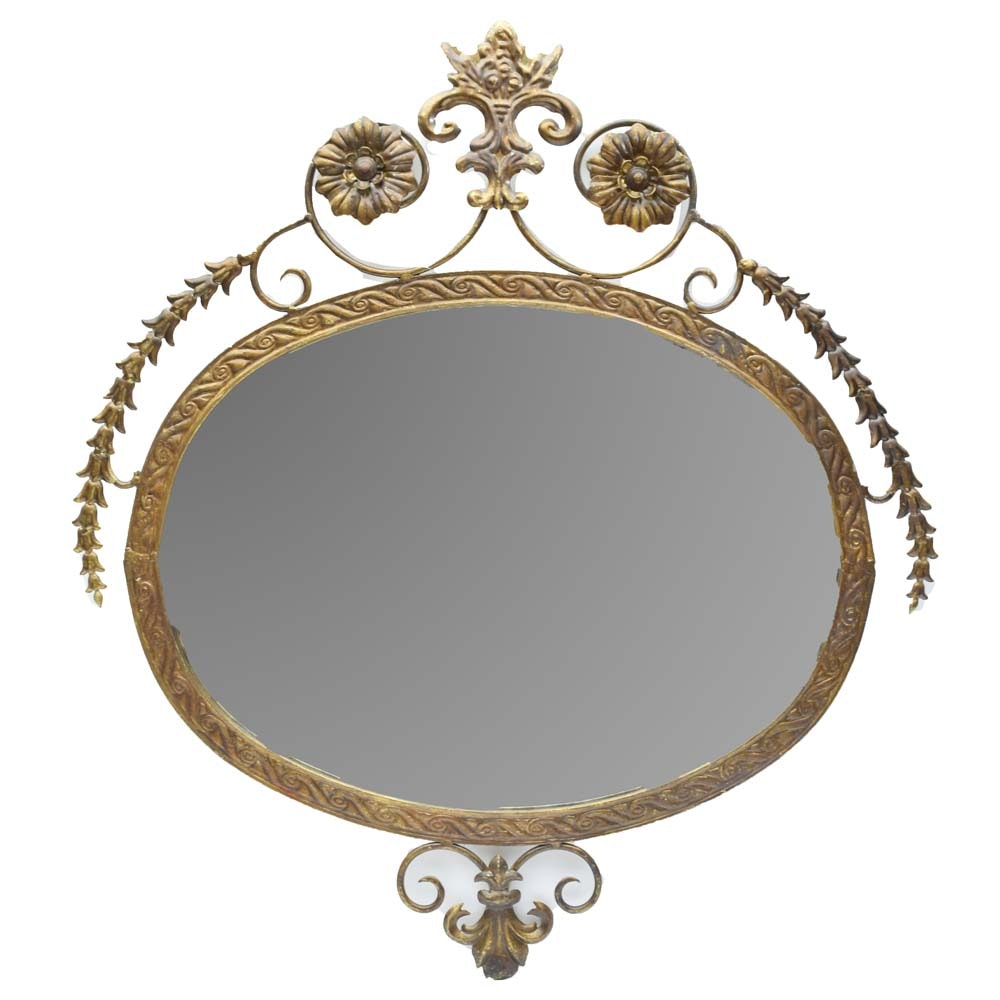 Neoclassical Style Wall Mirror