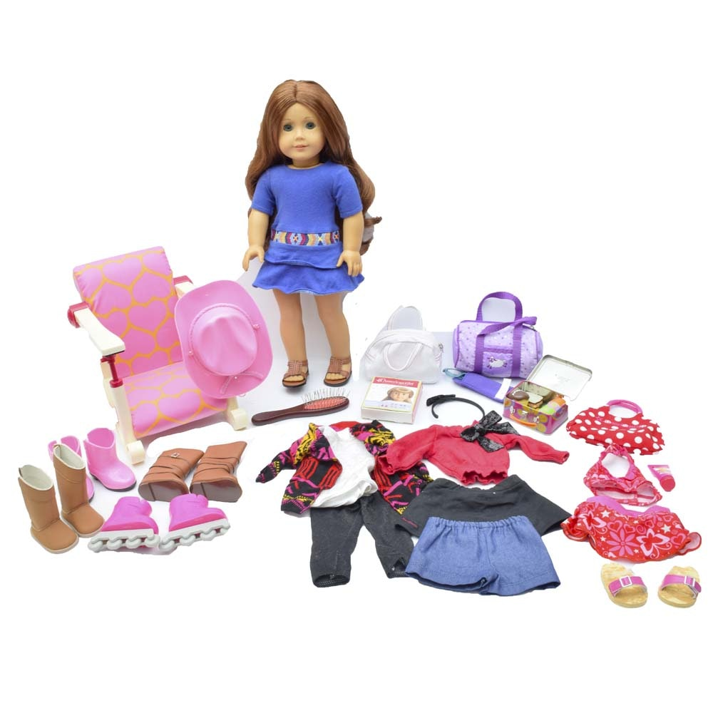 "American Girl 2013 Girl of the Year ""Saige"" Doll with Clothing and Accessories"