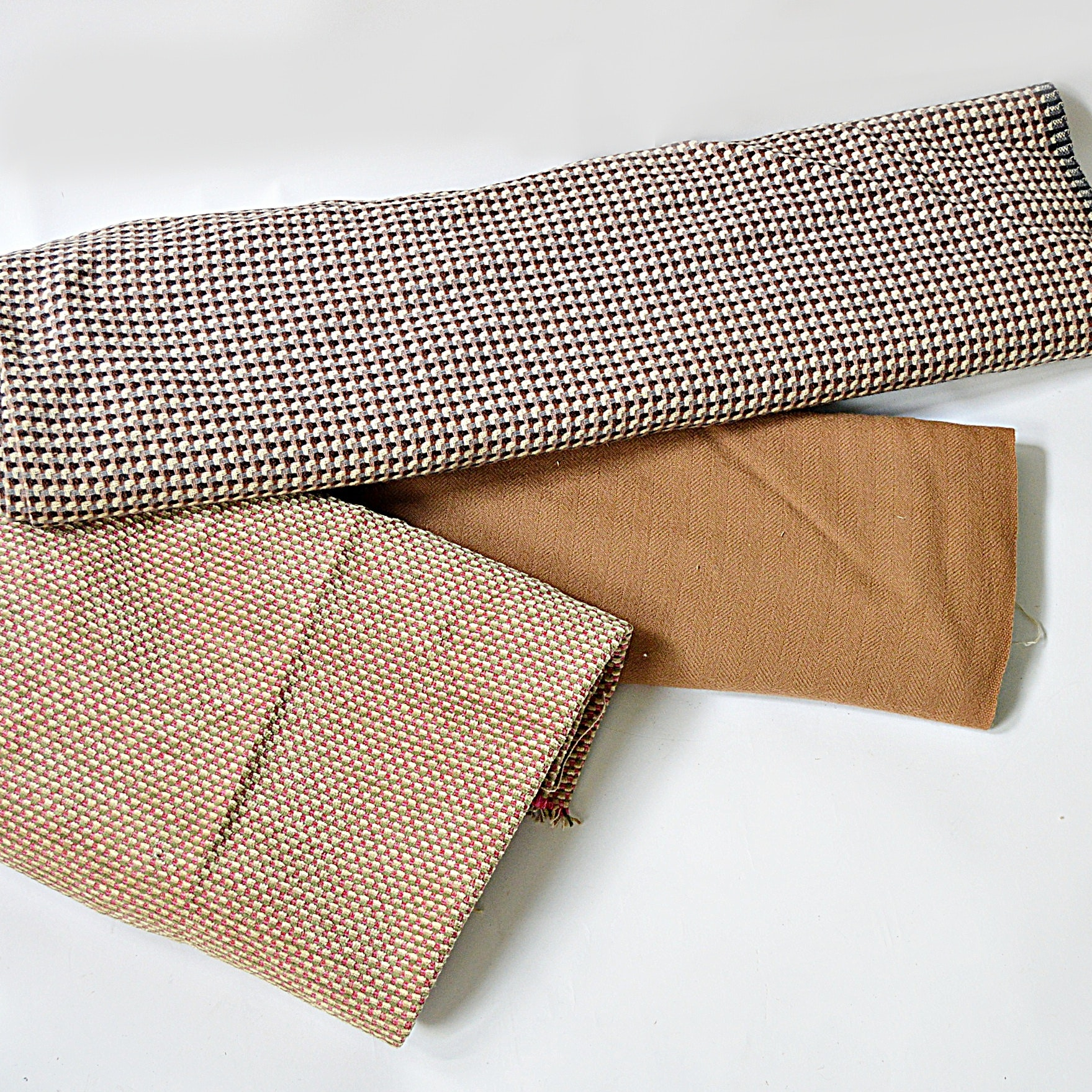 Vintage Wool and Corduroy Fabrics