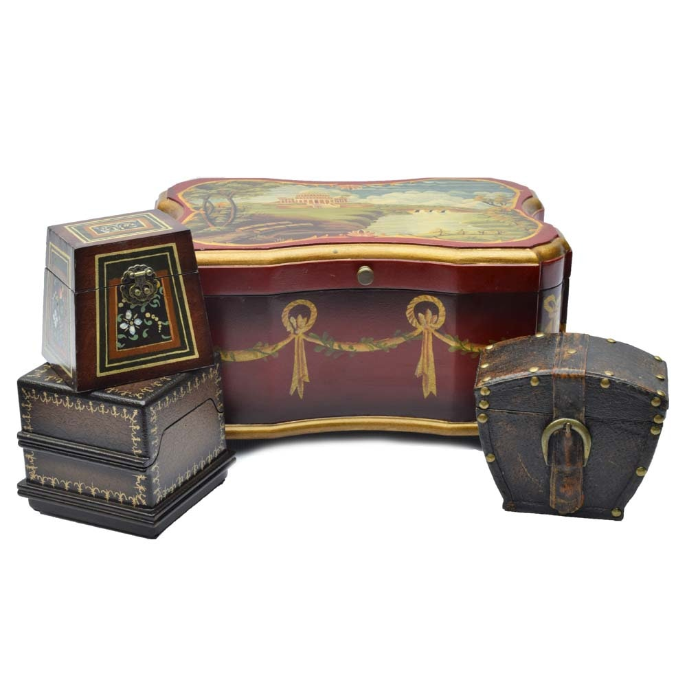 Petite Chest and Trinket Boxes