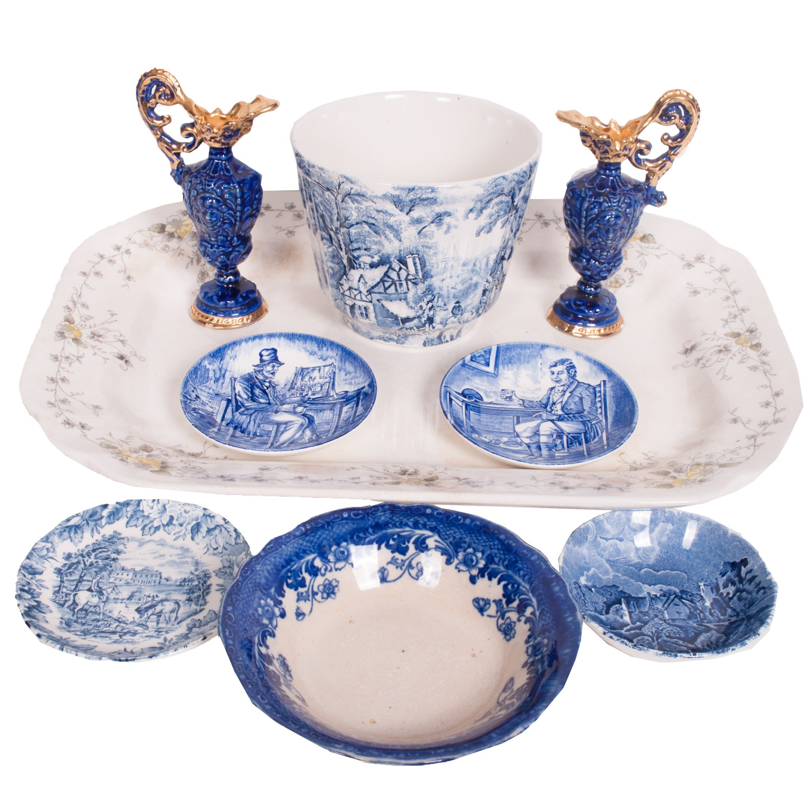 English Porcelain and Ironstone Assortment