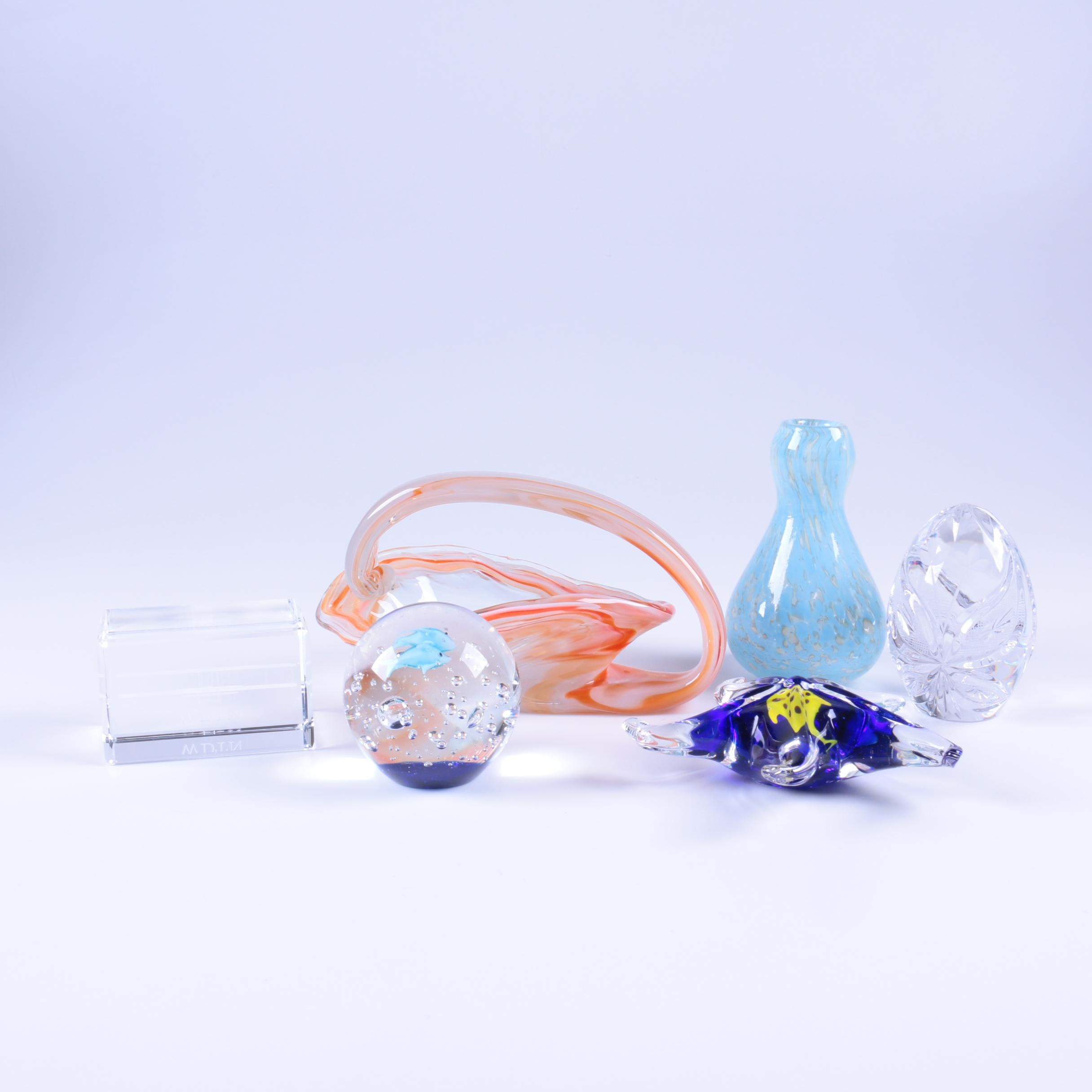 Art Glass and Crystal Paperweights