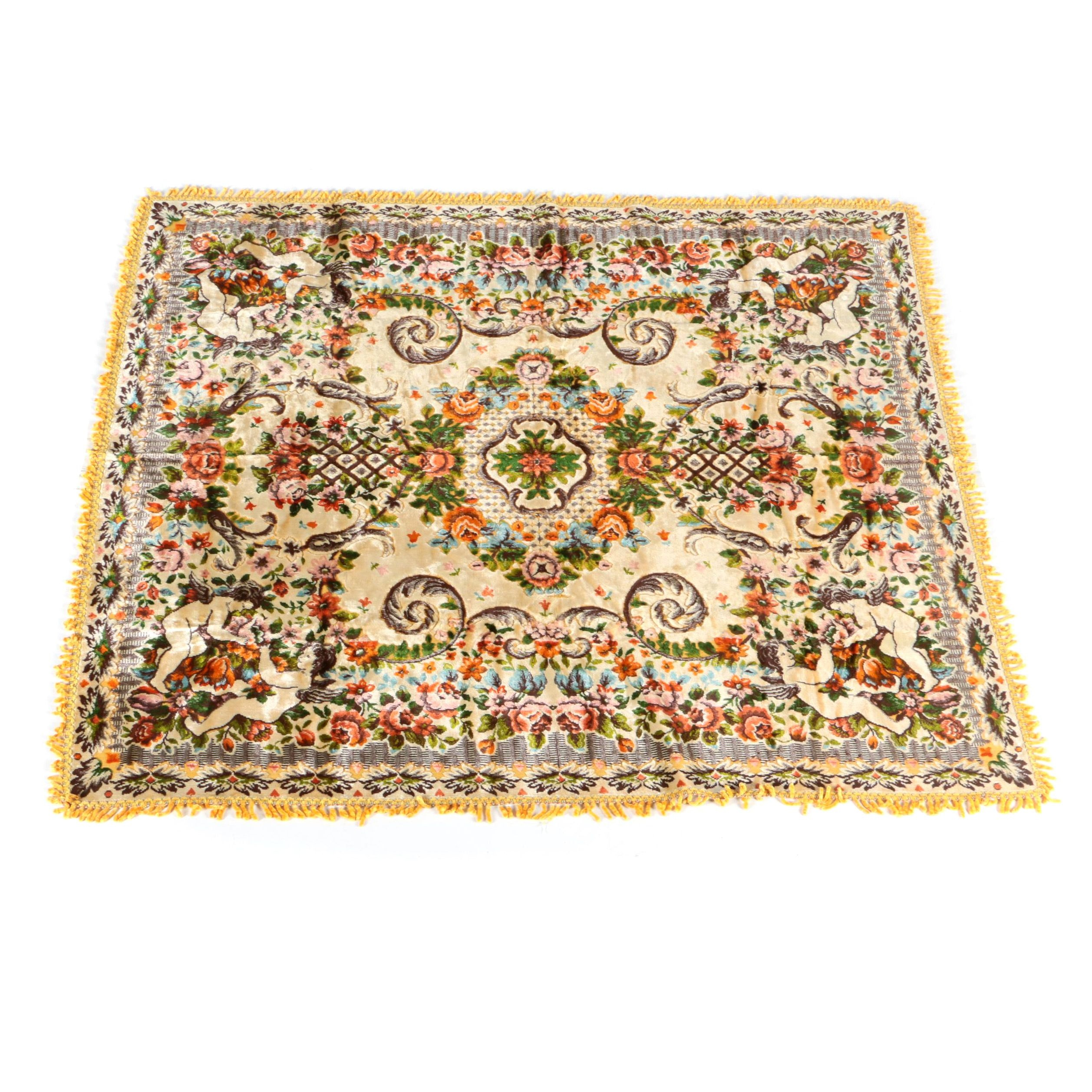 Italian Style Velvet Tapestry