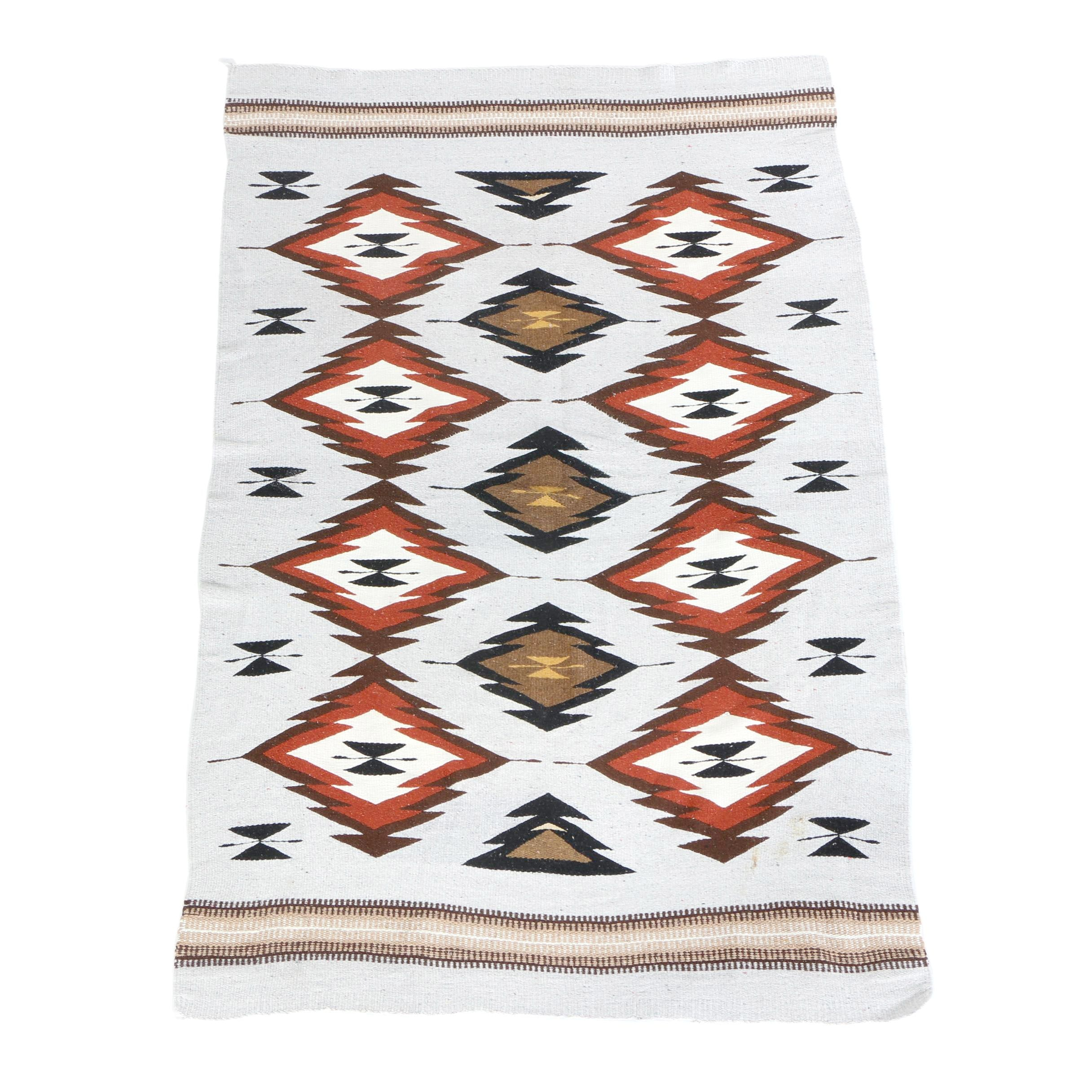 Southwestern Style Hand Knit Blanket