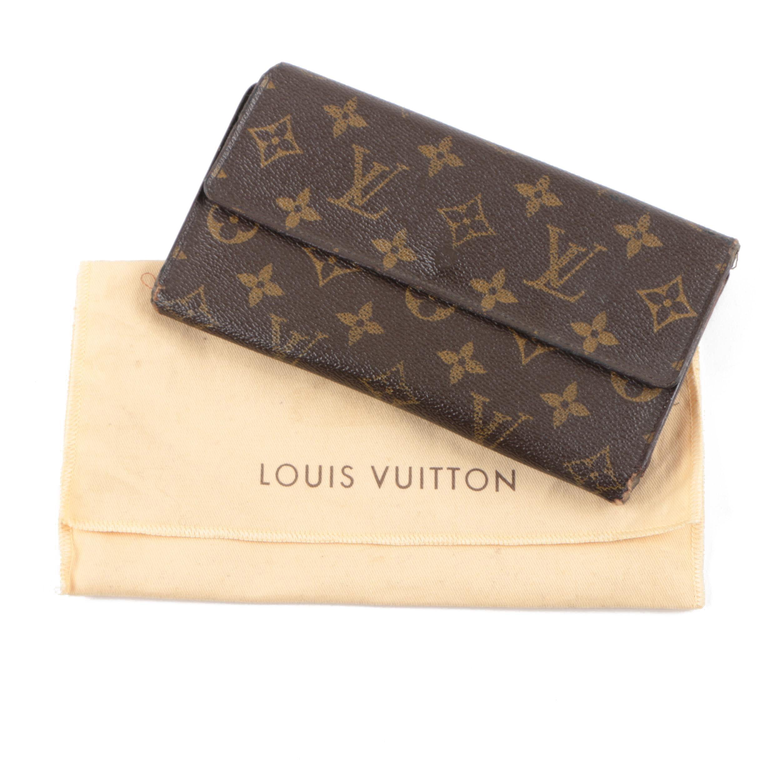 Vintage Louis Vuitton of Paris Monogram Canvas Wallet
