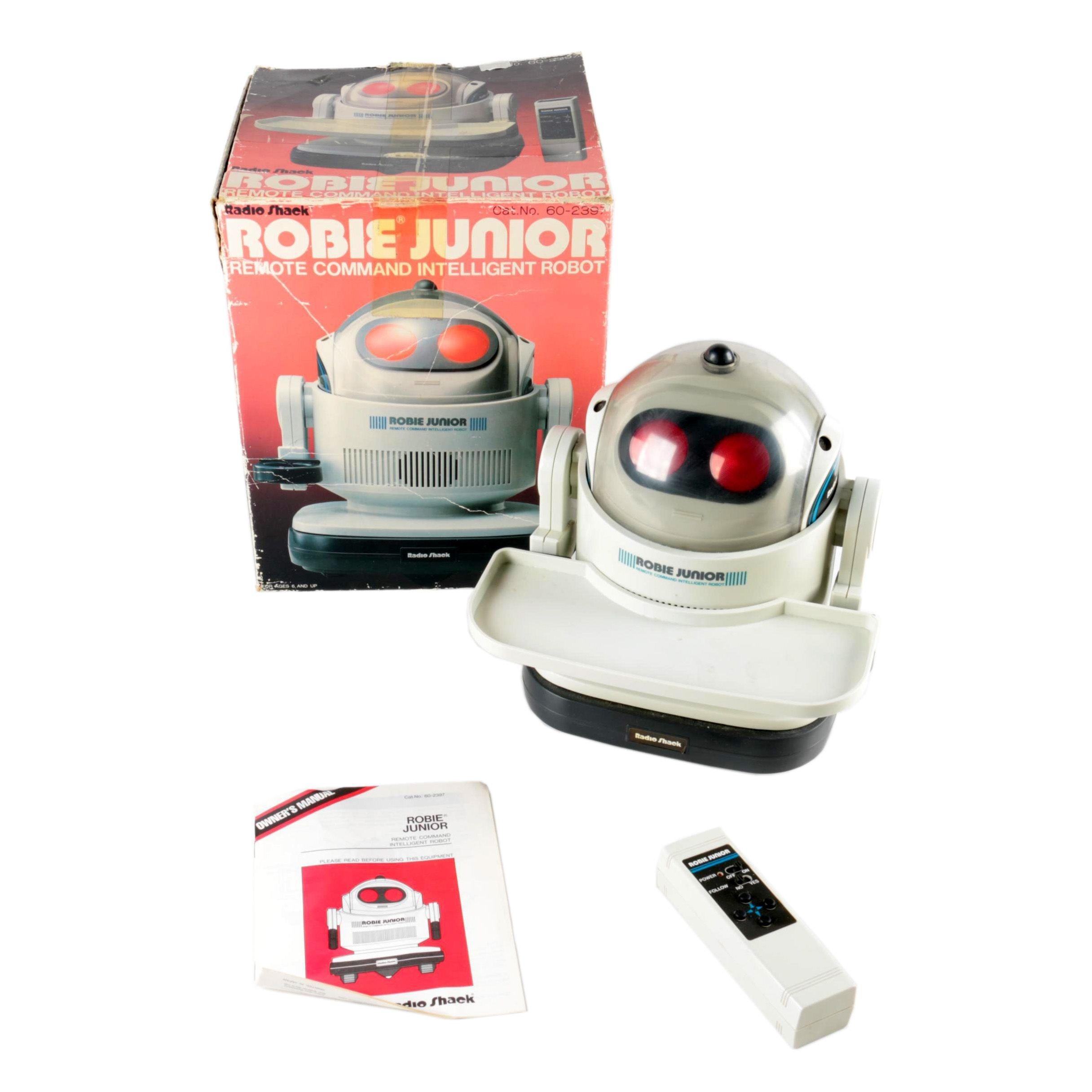 "Radio Shack ""Robie Junior"" Electronic Toy"