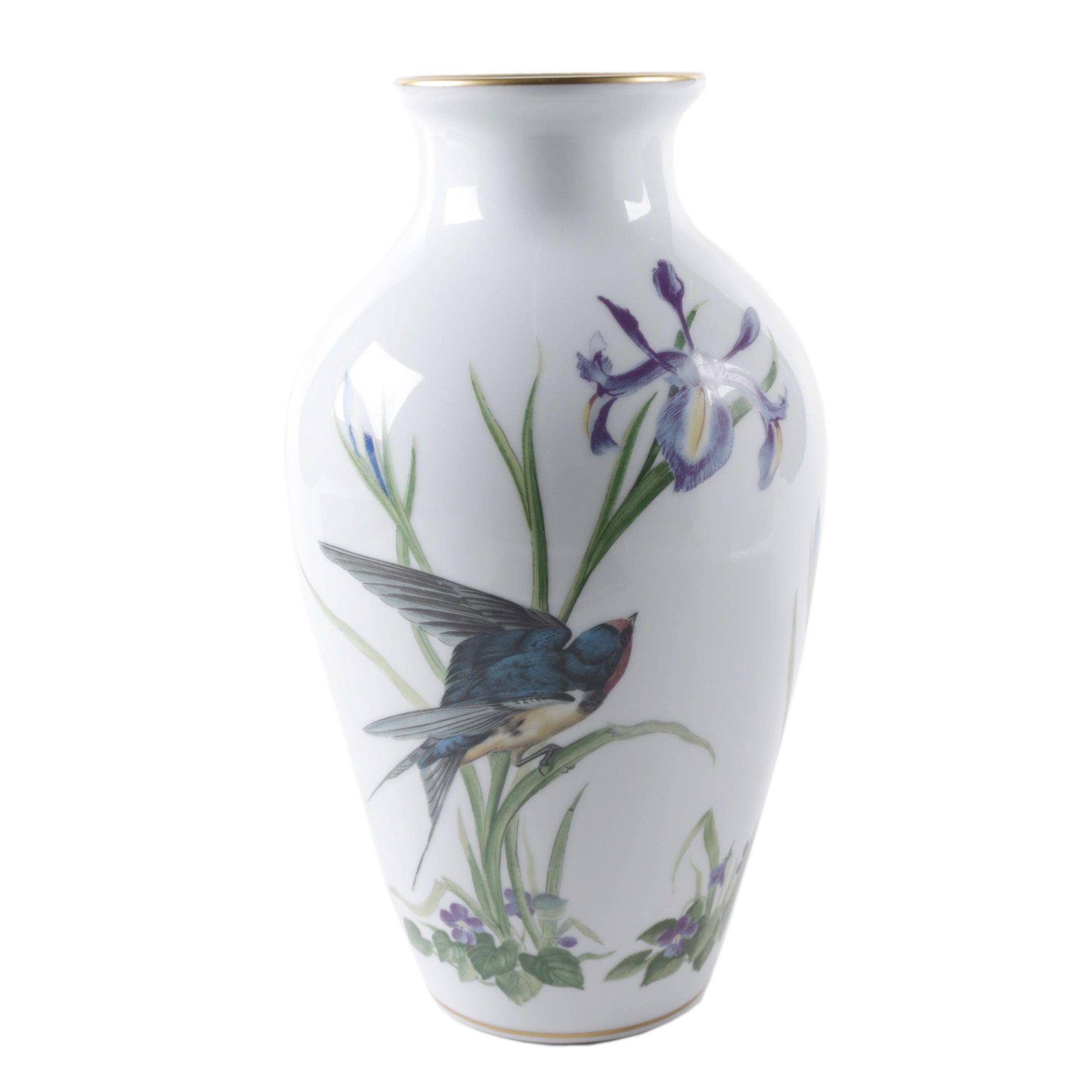 "Basil Ede ""The Meadowland Bird Vase"""