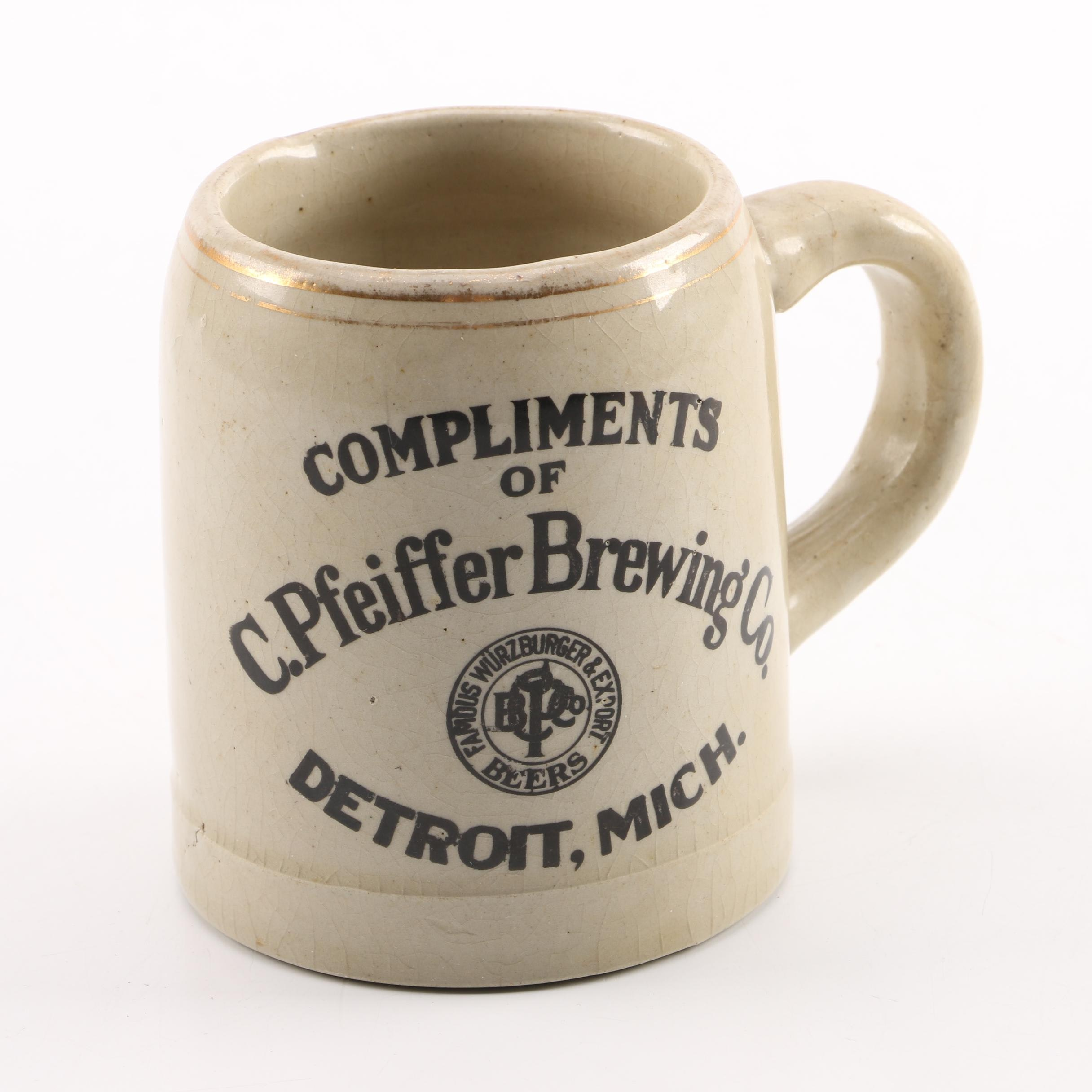 C. Pfeiffer Brewing Co. Ceramic Mug