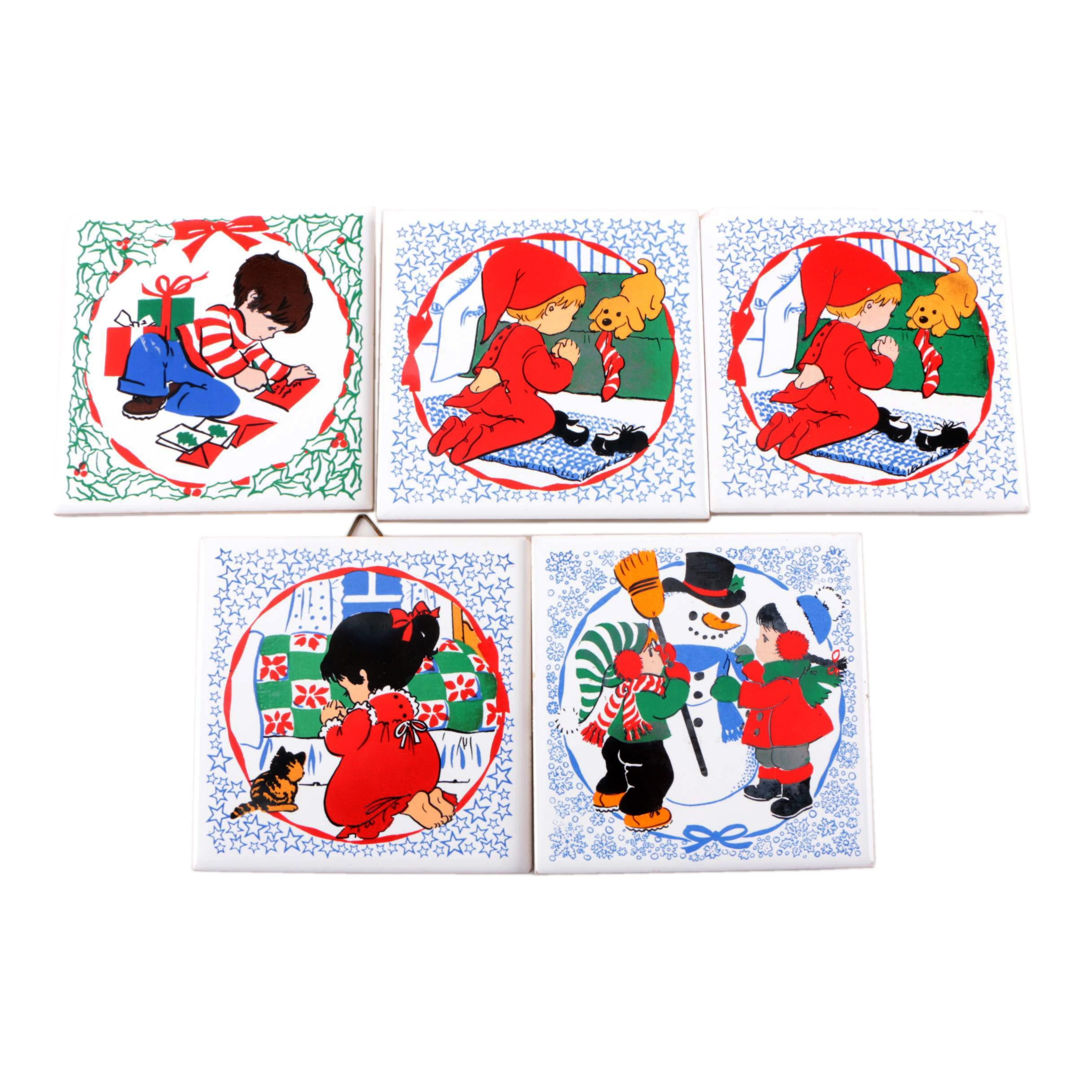 Collection of Christmas Themed Coasters