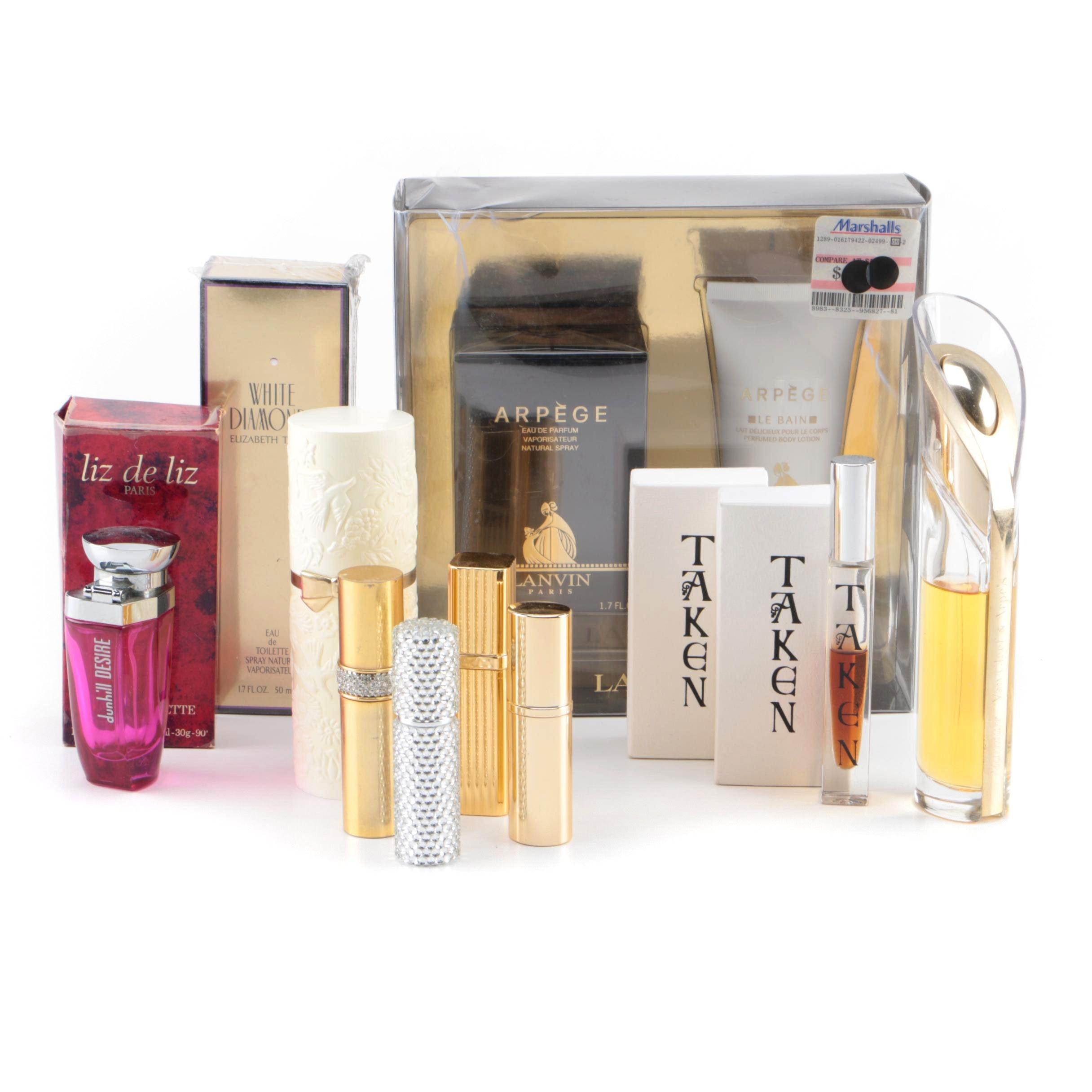 Perfume Including Elizabeth Taylor