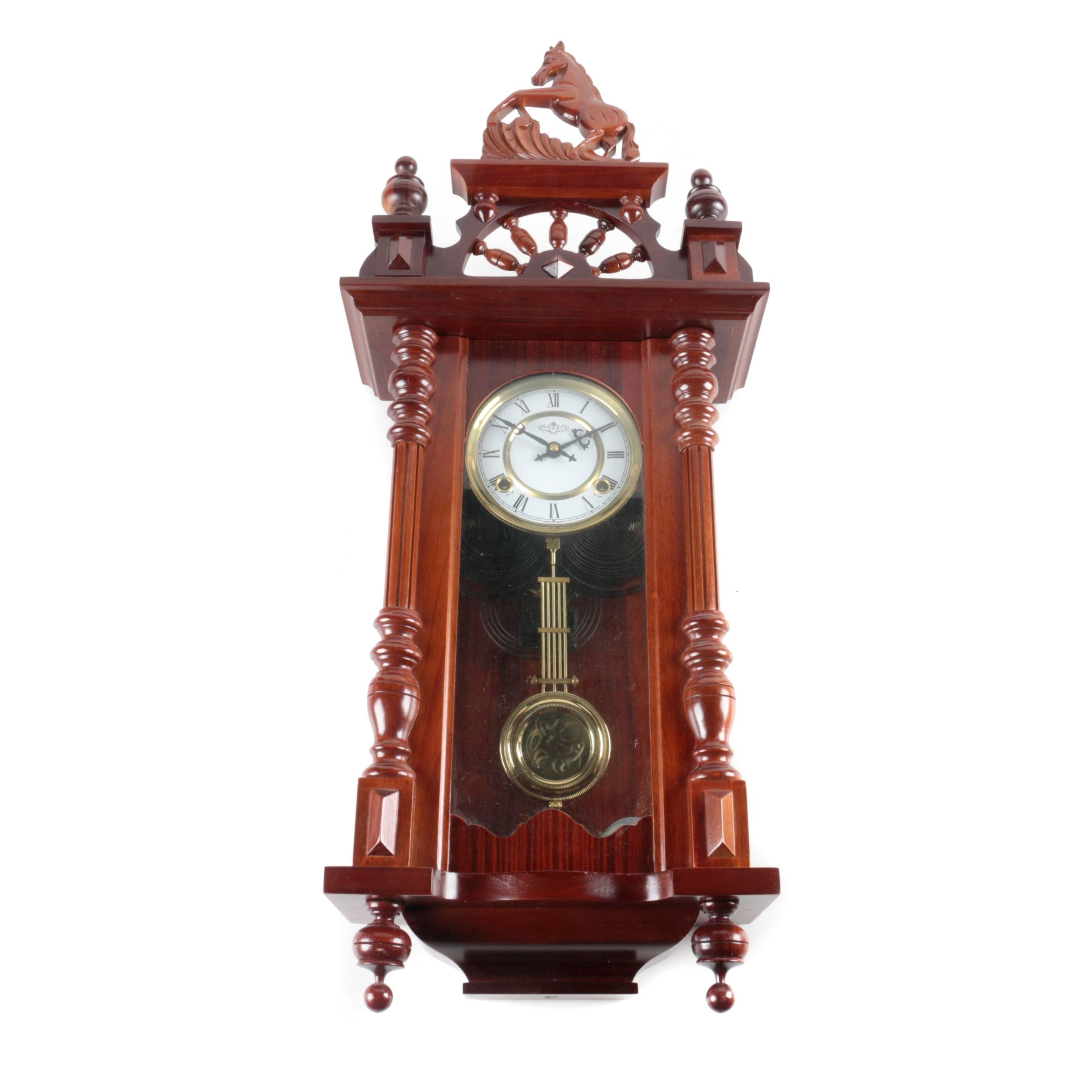 D & A Pendulum Wall Clock
