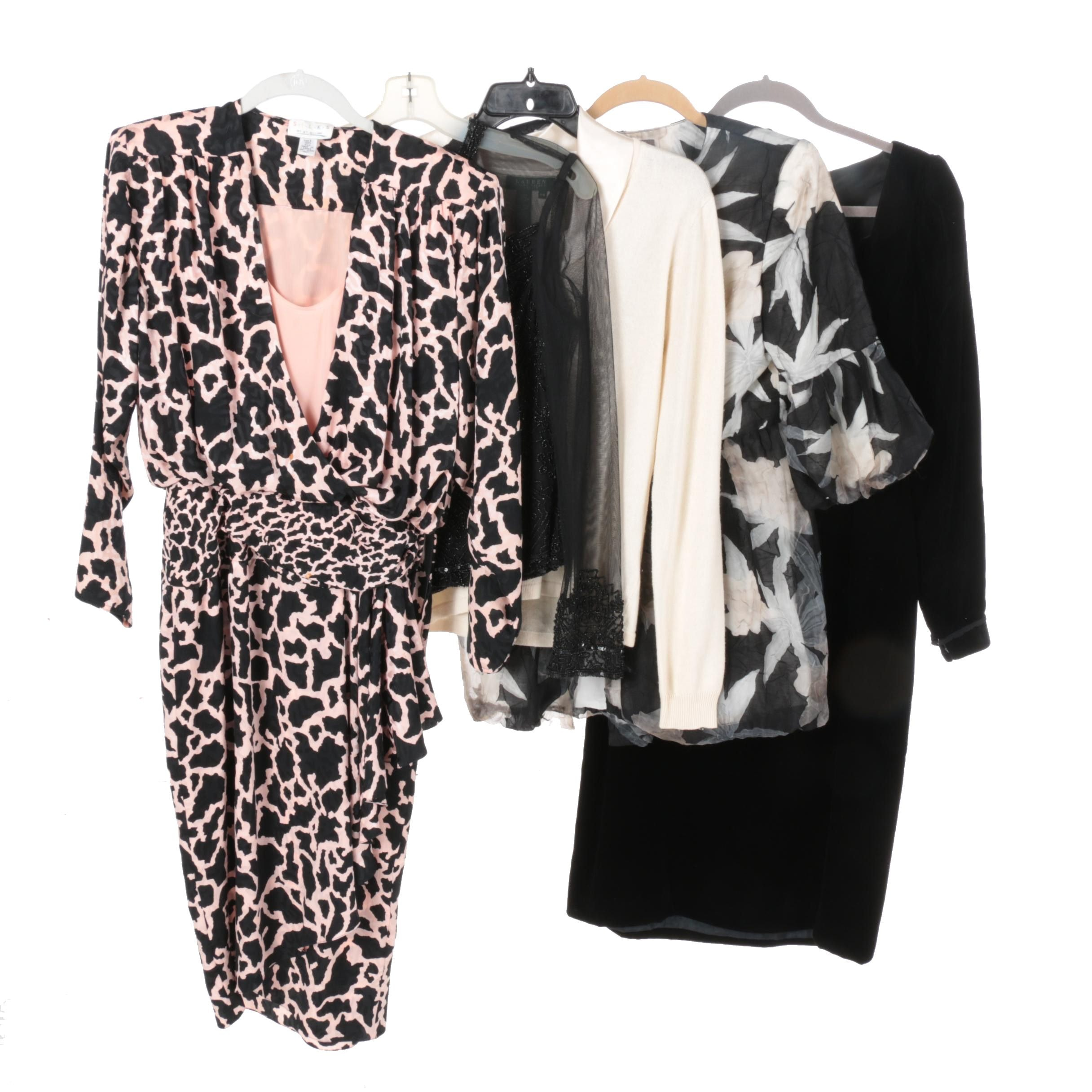 Women's Dresses and Blouses Including Marina by Marina Bresler